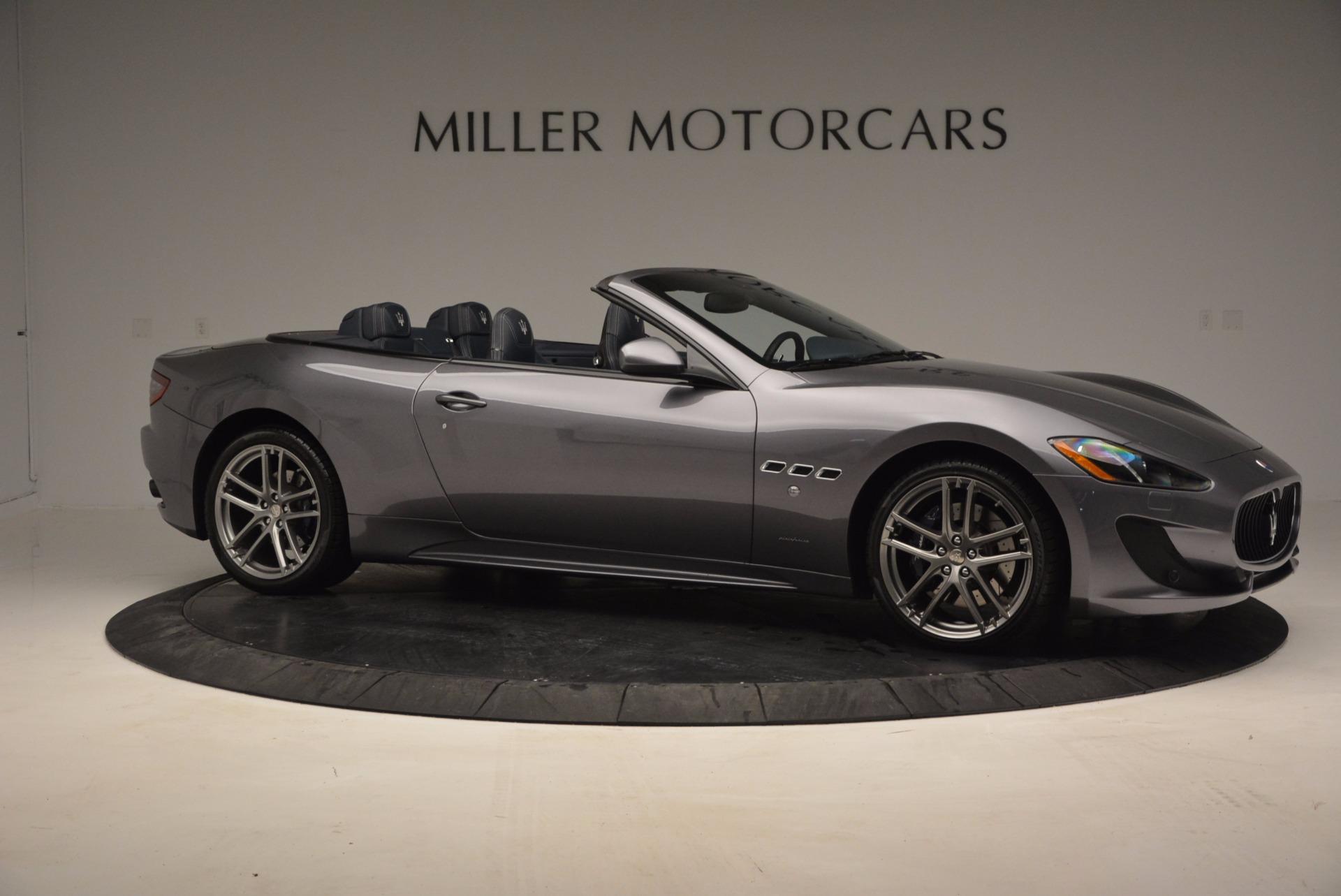 New 2016 Maserati GranTurismo Convertible Sport For Sale In Westport, CT 154_p7