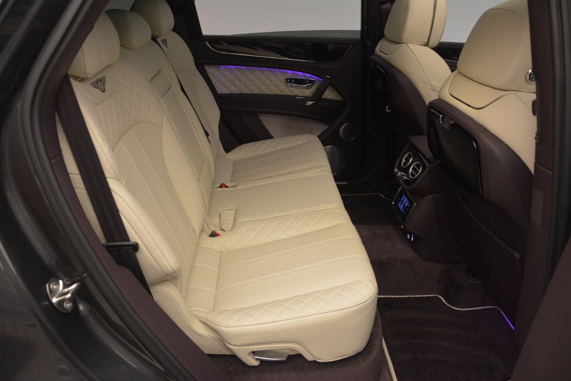 New 2018 Bentley Bentayga Signature For Sale In Westport, CT 1547_p40