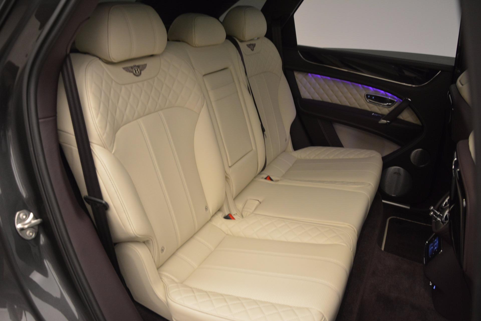 New 2018 Bentley Bentayga Signature For Sale In Westport, CT 1547_p41