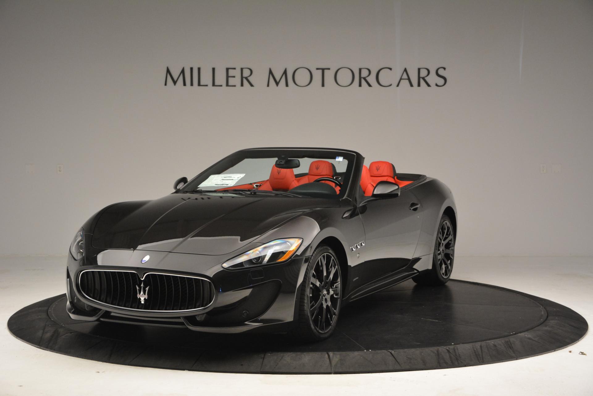 New 2016 Maserati GranTurismo Convertible Sport For Sale In Westport, CT 155_main