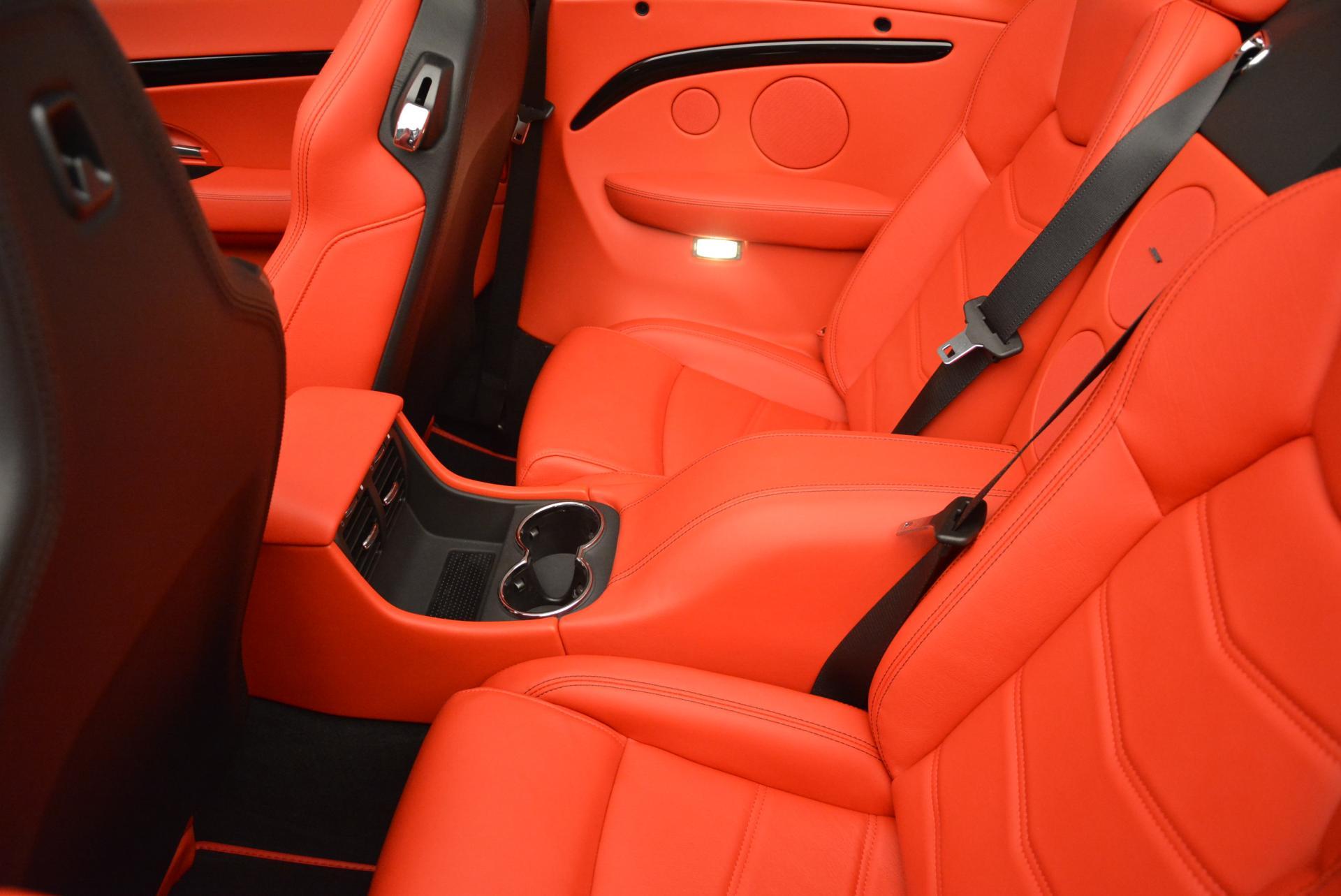 New 2016 Maserati GranTurismo Convertible Sport For Sale In Westport, CT 155_p29
