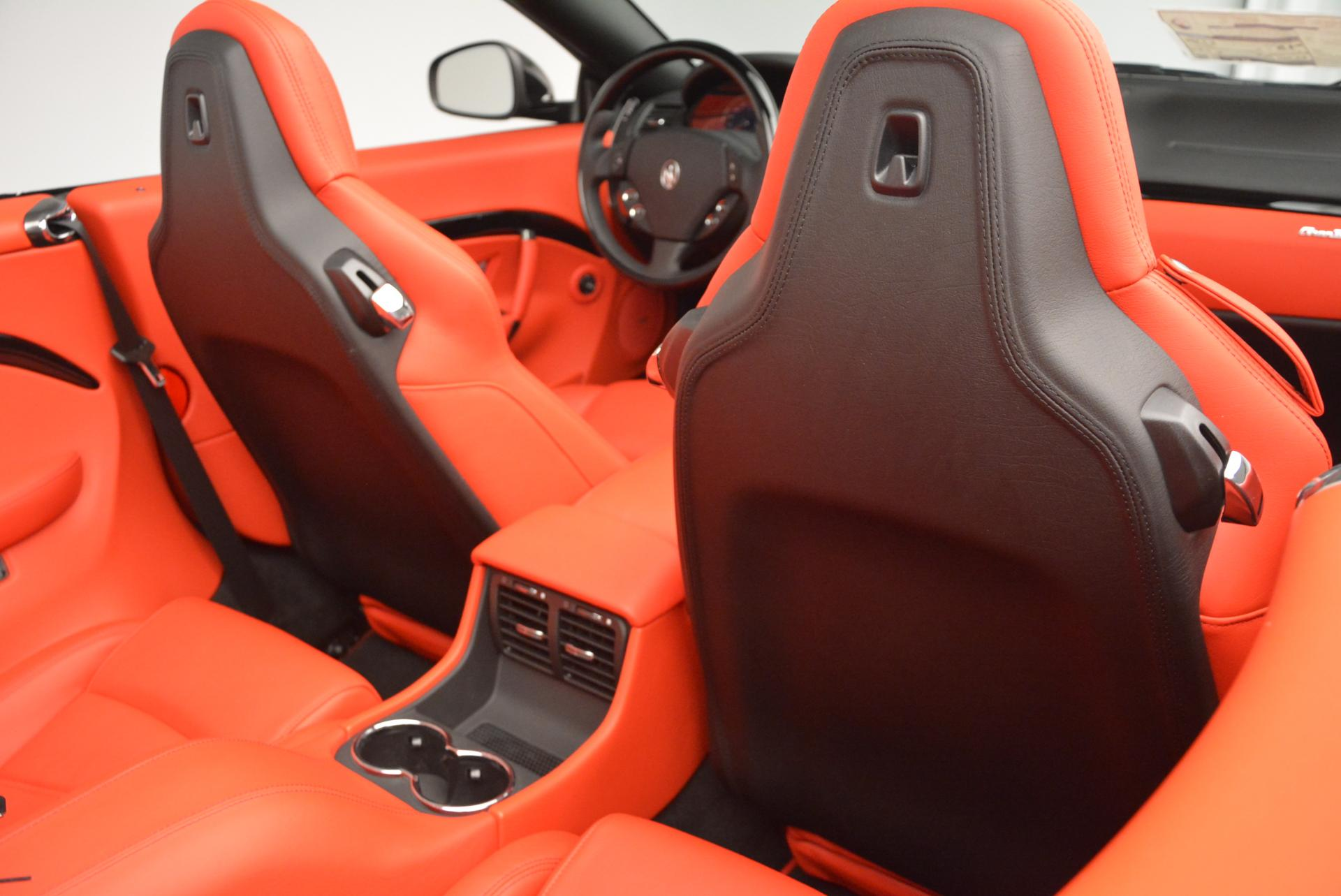 New 2016 Maserati GranTurismo Convertible Sport For Sale In Westport, CT 155_p34