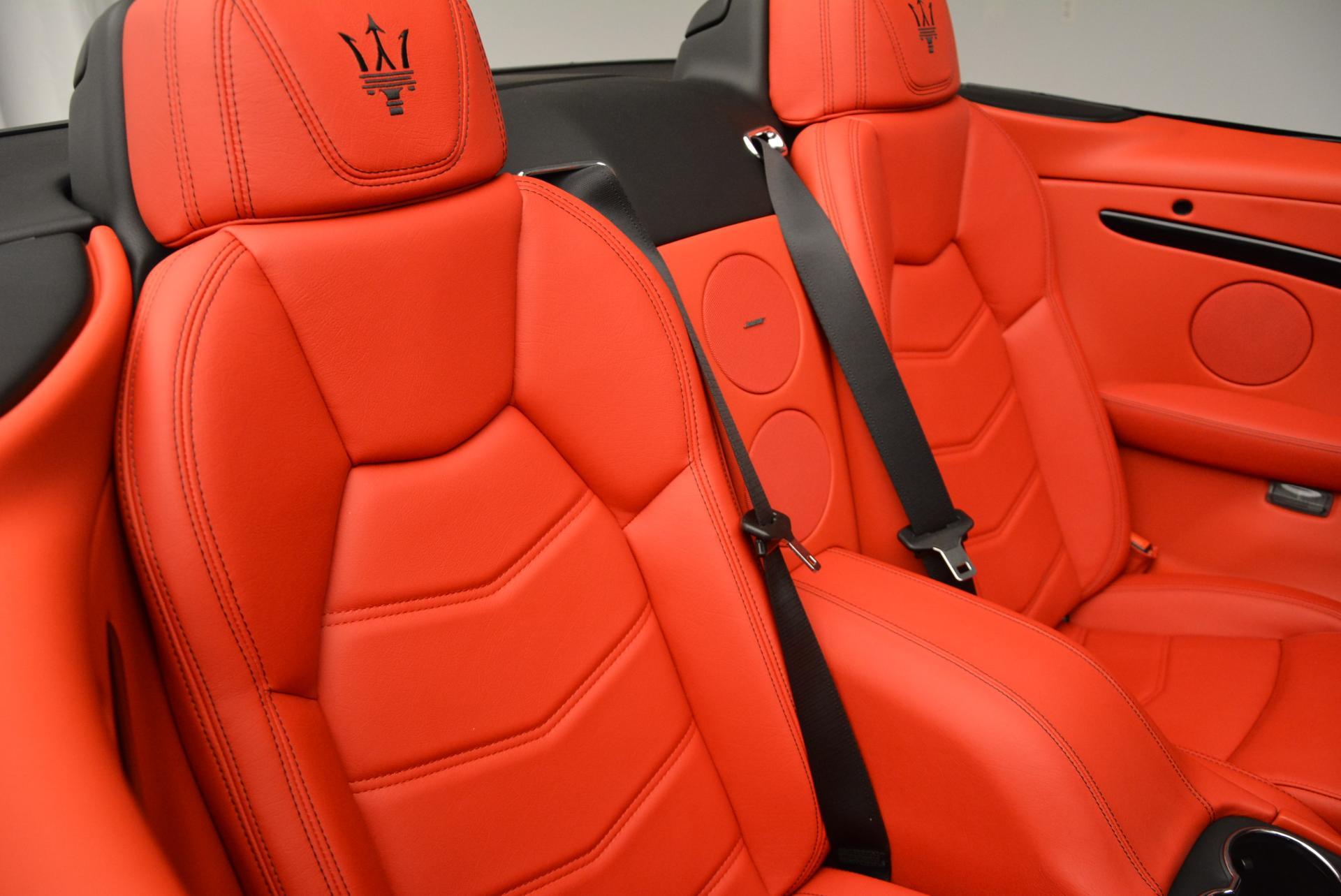New 2016 Maserati GranTurismo Convertible Sport For Sale In Westport, CT 155_p36