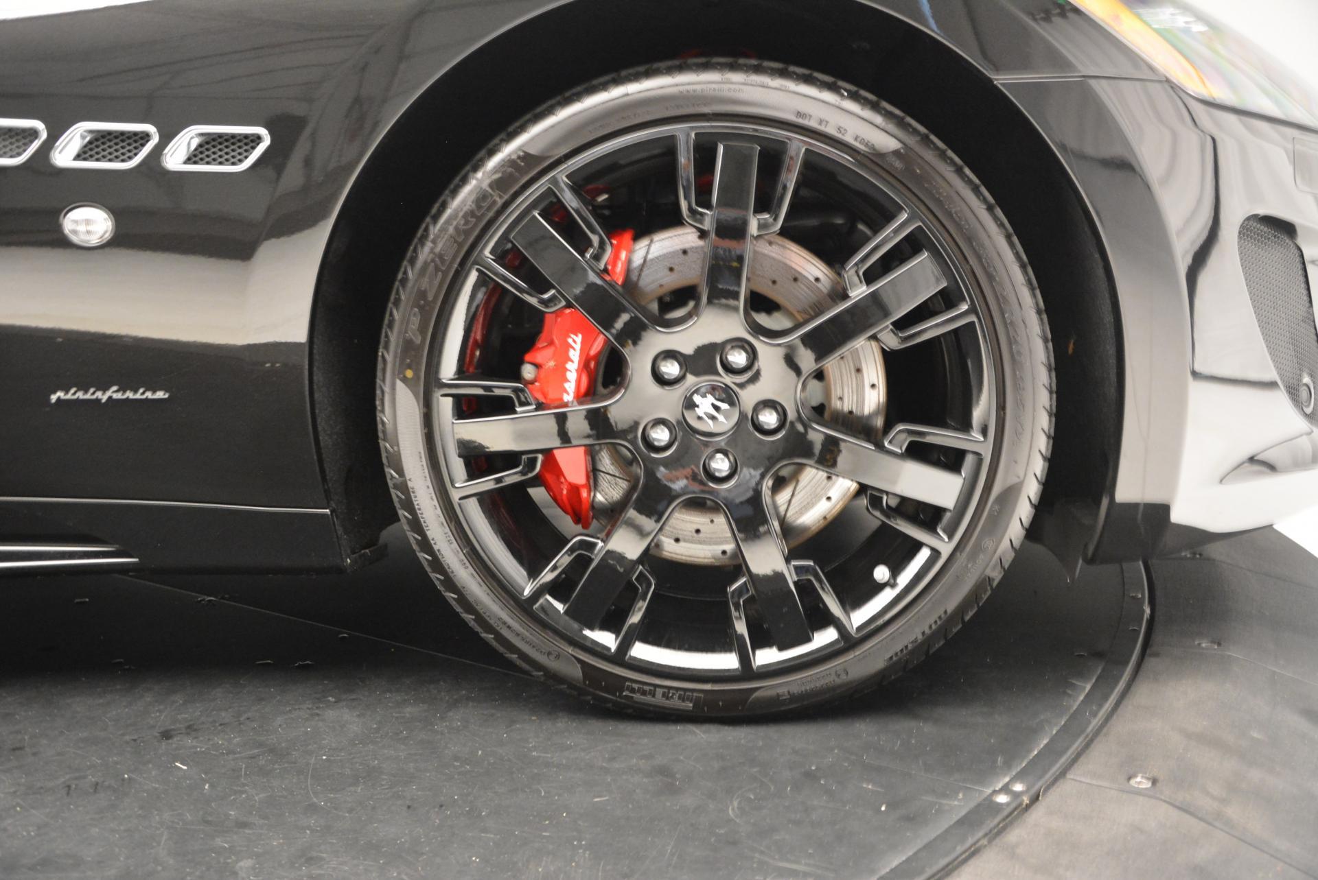 New 2016 Maserati GranTurismo Convertible Sport For Sale In Westport, CT 155_p37