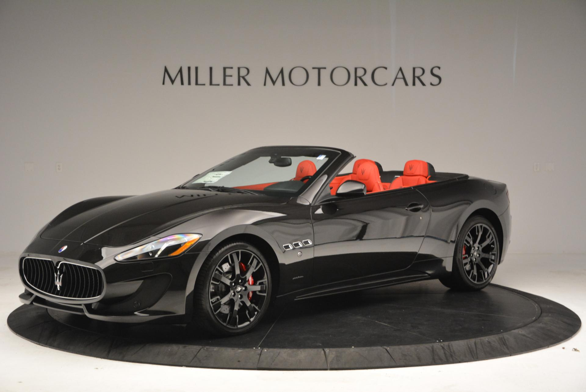 New 2016 Maserati GranTurismo Convertible Sport For Sale In Westport, CT 155_p3