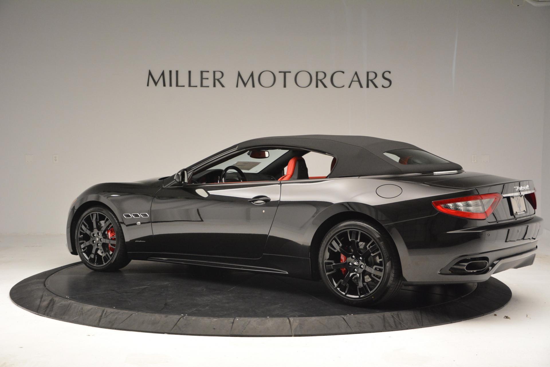 New 2016 Maserati GranTurismo Convertible Sport For Sale In Westport, CT 155_p8