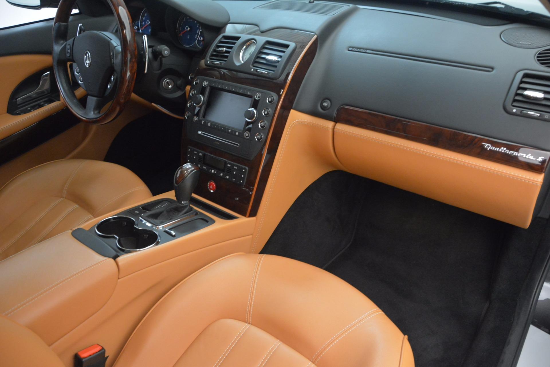 Used 2010 Maserati Quattroporte S For Sale In Westport, CT 1551_p34