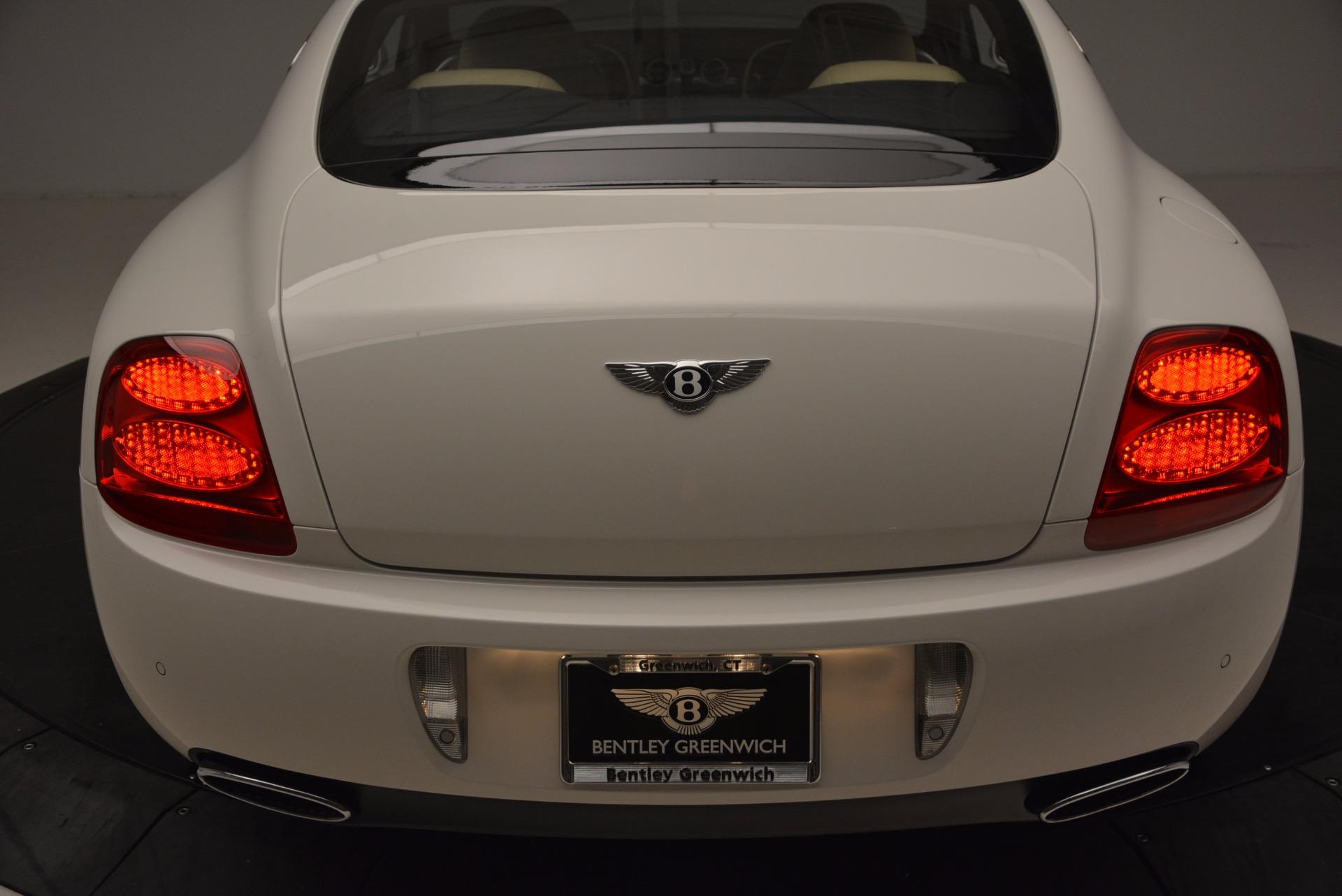 Used 2008 Bentley Continental GT Speed For Sale In Westport, CT 1552_p28