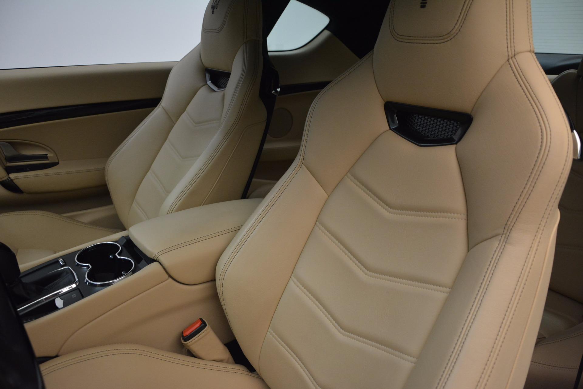 Used 2015 Maserati GranTurismo Sport Coupe For Sale In Westport, CT 1557_p15