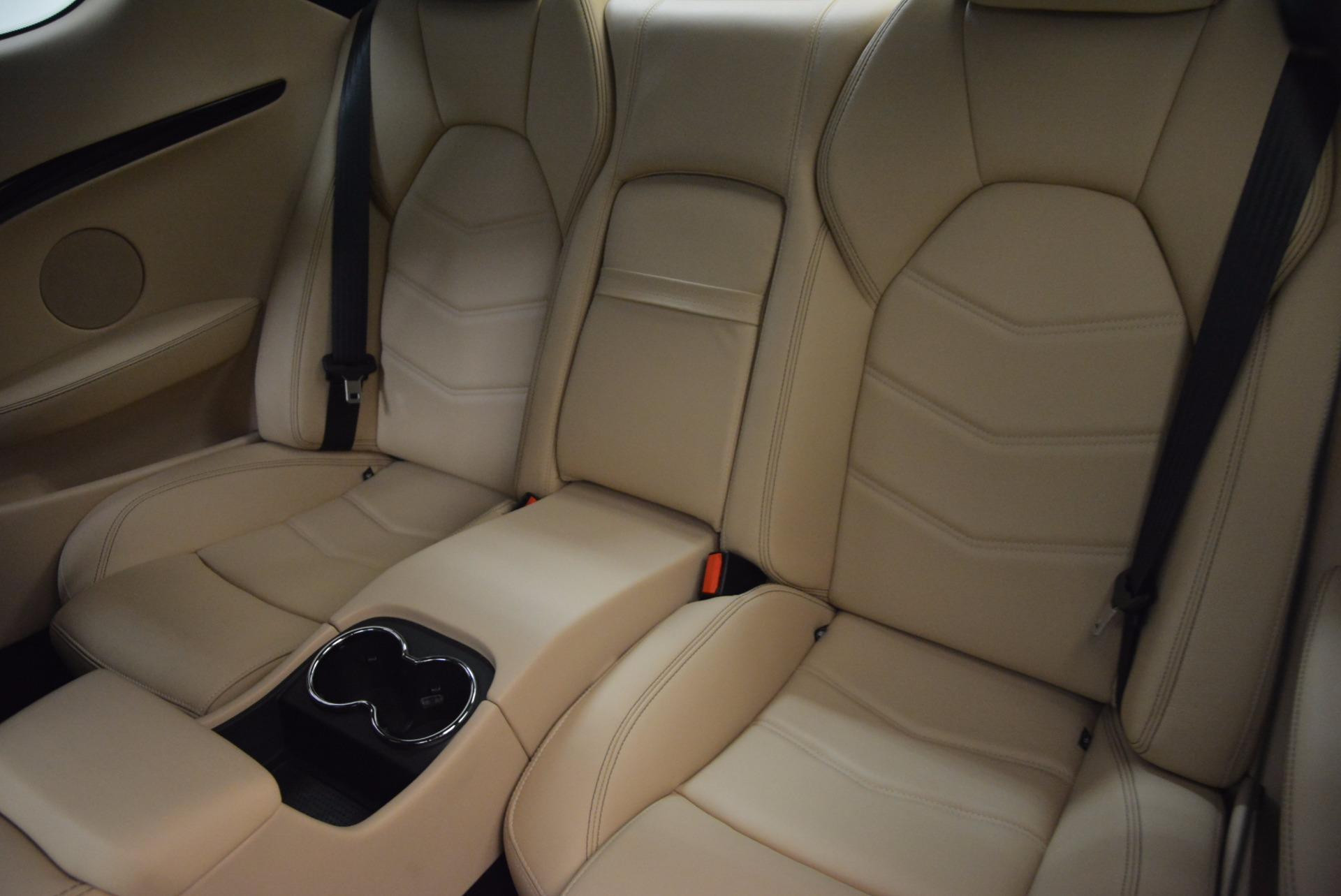 Used 2015 Maserati GranTurismo Sport Coupe For Sale In Westport, CT 1557_p16
