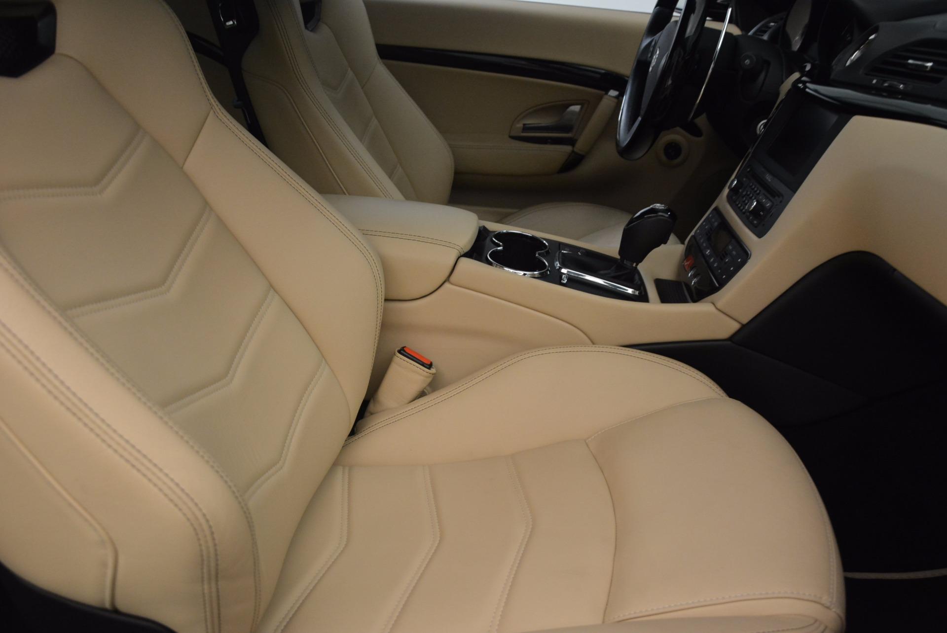 Used 2015 Maserati GranTurismo Sport Coupe For Sale In Westport, CT 1557_p23