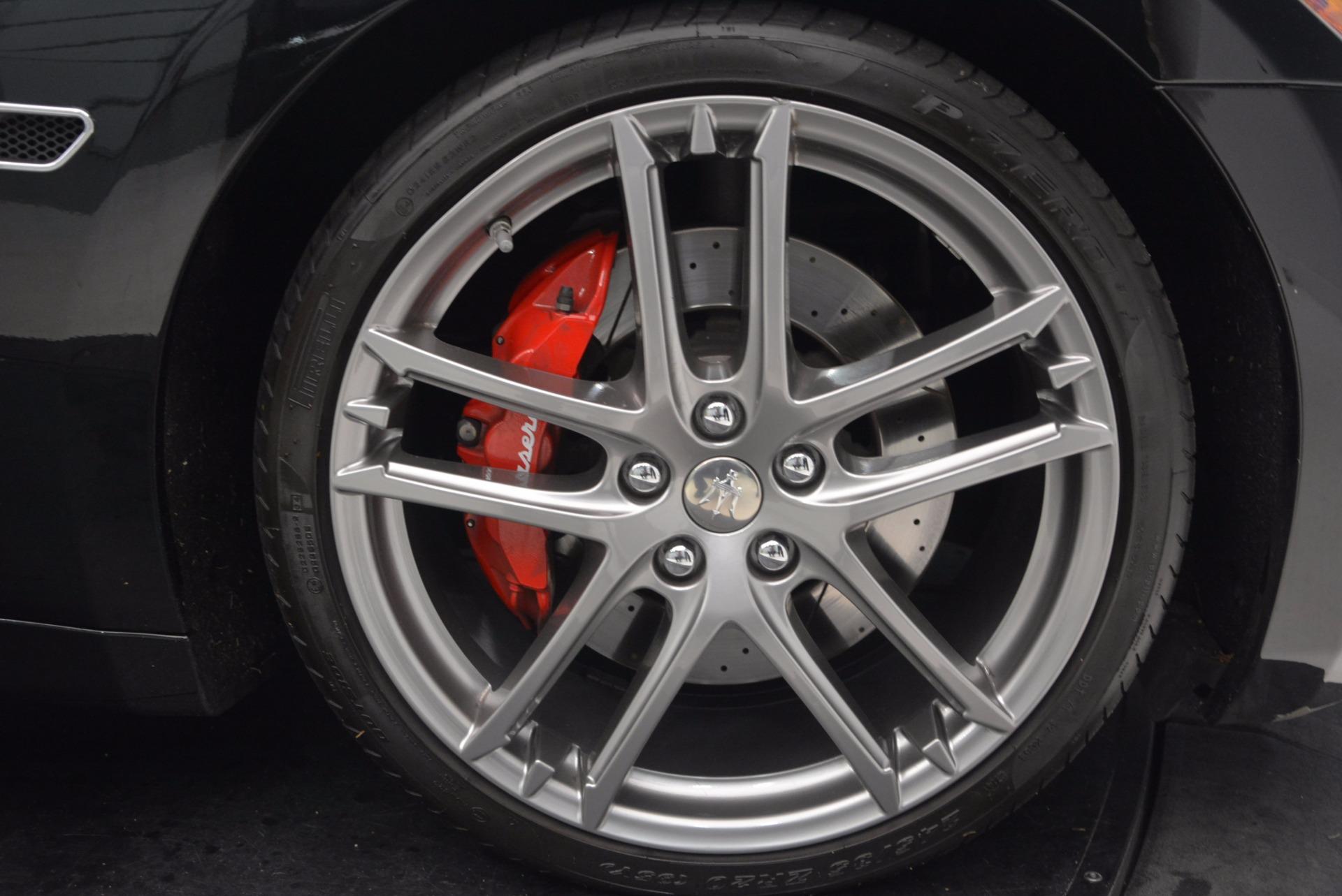 Used 2015 Maserati GranTurismo Sport Coupe For Sale In Westport, CT 1557_p27
