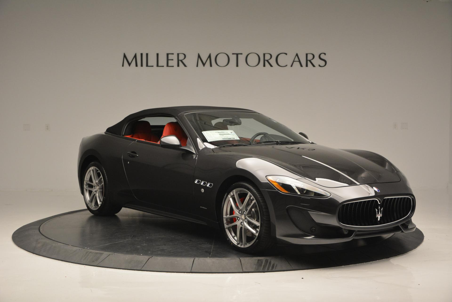 New 2017 Maserati GranTurismo Convertible Sport For Sale In Westport, CT 156_p15