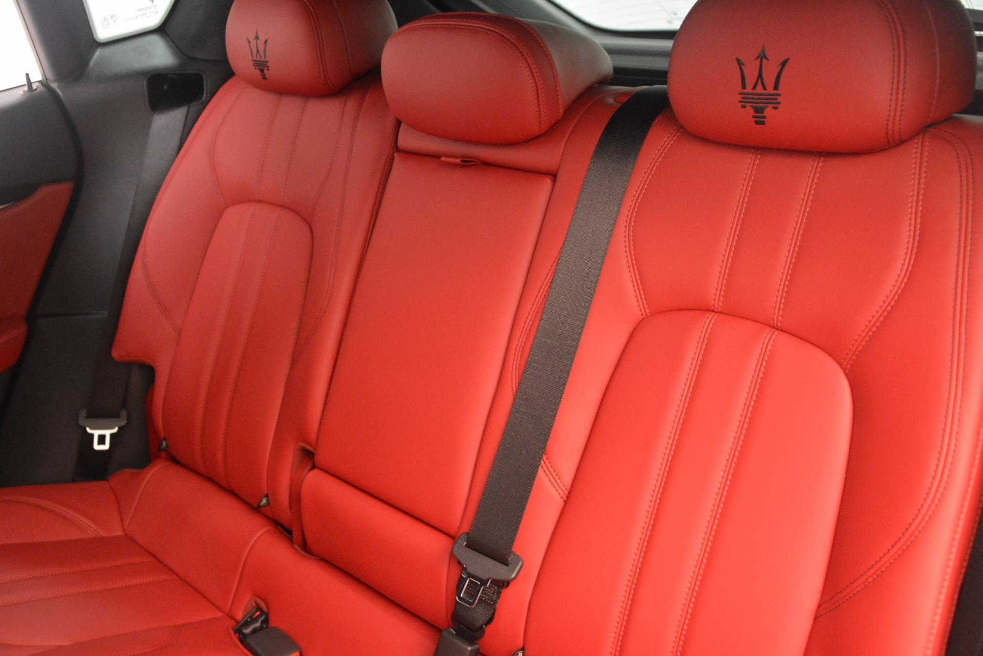 New 2018 Maserati Levante Q4 GranSport For Sale In Westport, CT 1563_p18