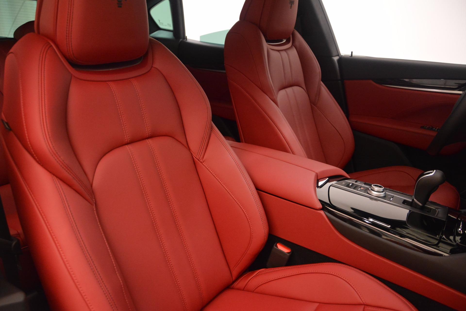 New 2018 Maserati Levante Q4 GranSport For Sale In Westport, CT 1563_p21