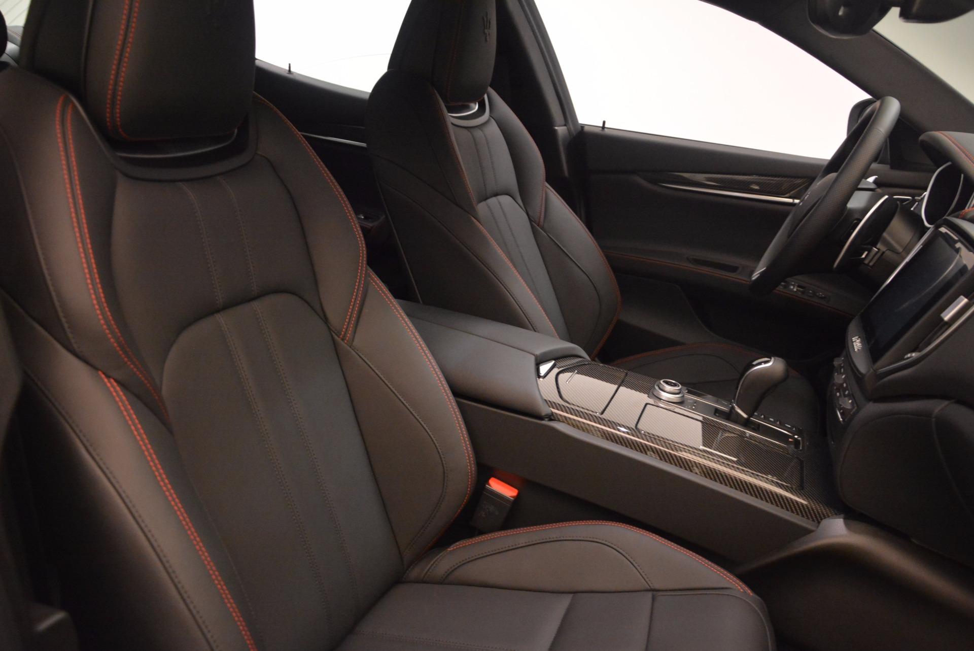 New 2018 Maserati Ghibli S Q4 GranSport For Sale In Westport, CT 1569_p21