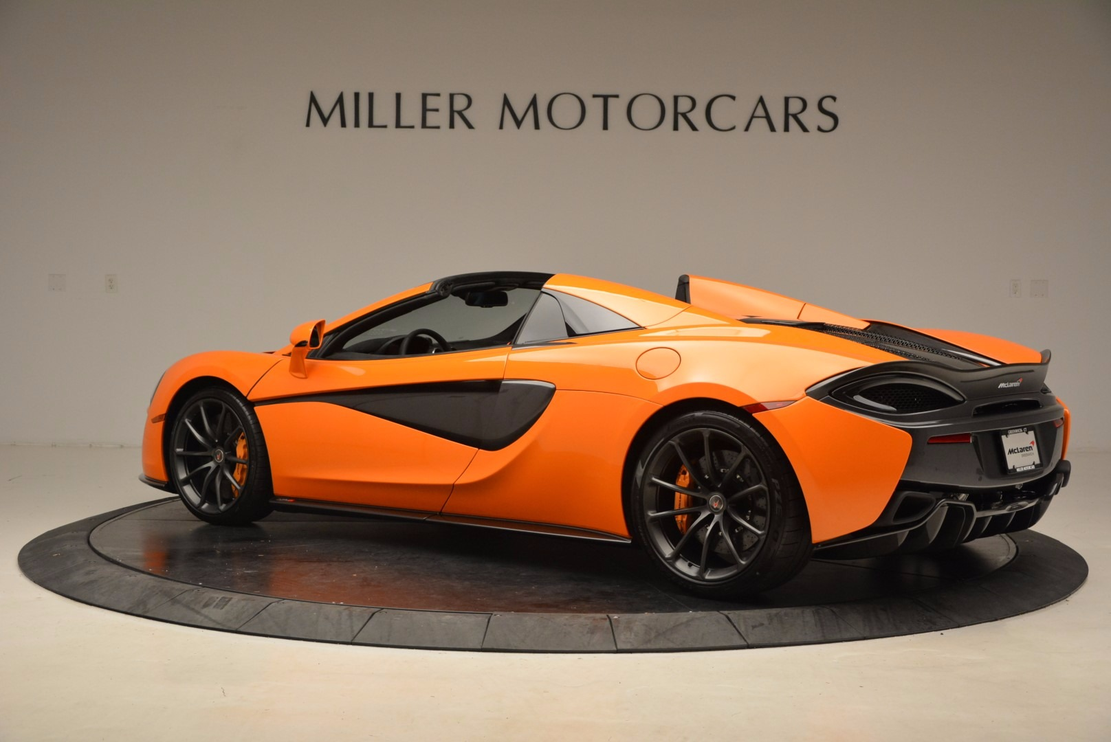 New 2018 McLaren 570S Spider  For Sale In Westport, CT 1580_p4