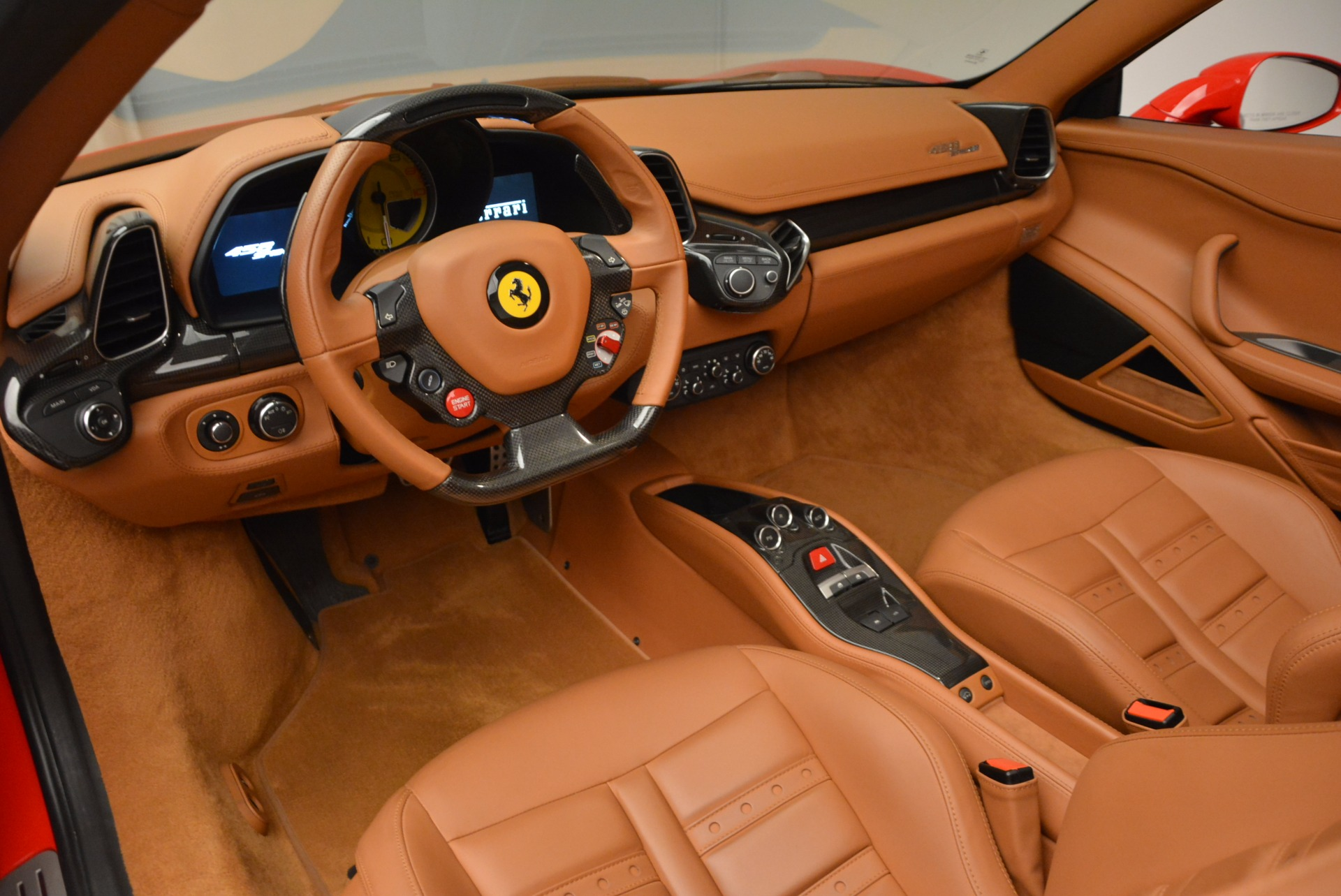 Used 2012 Ferrari 458 Spider  For Sale In Westport, CT 1581_p25