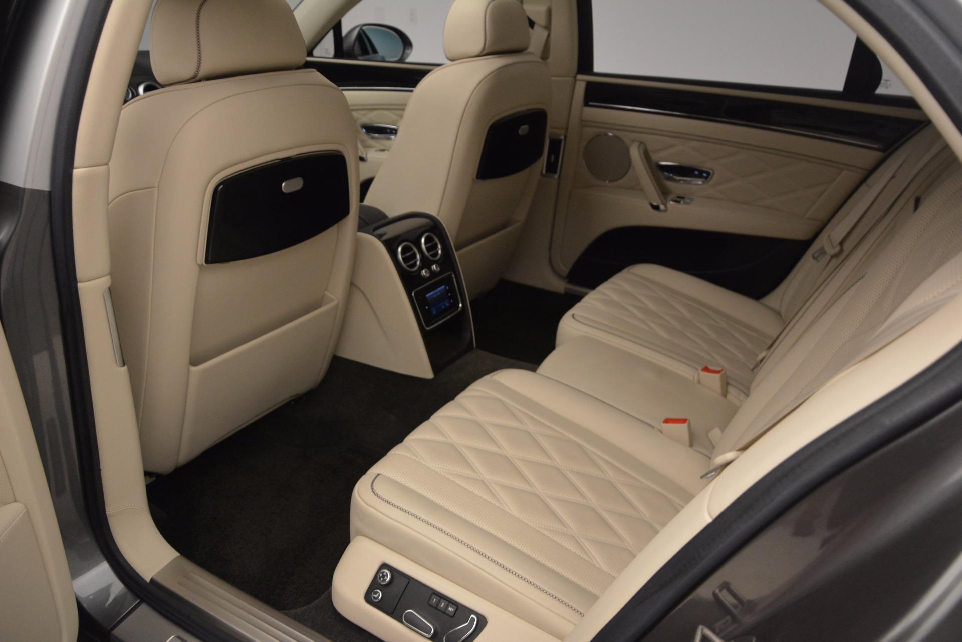 Used 2015 Bentley Flying Spur W12 For Sale In Westport, CT 1582_p29