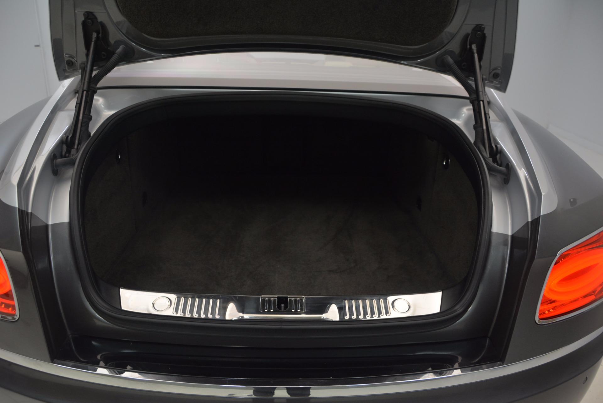 Used 2015 Bentley Flying Spur W12 For Sale In Westport, CT 1582_p32
