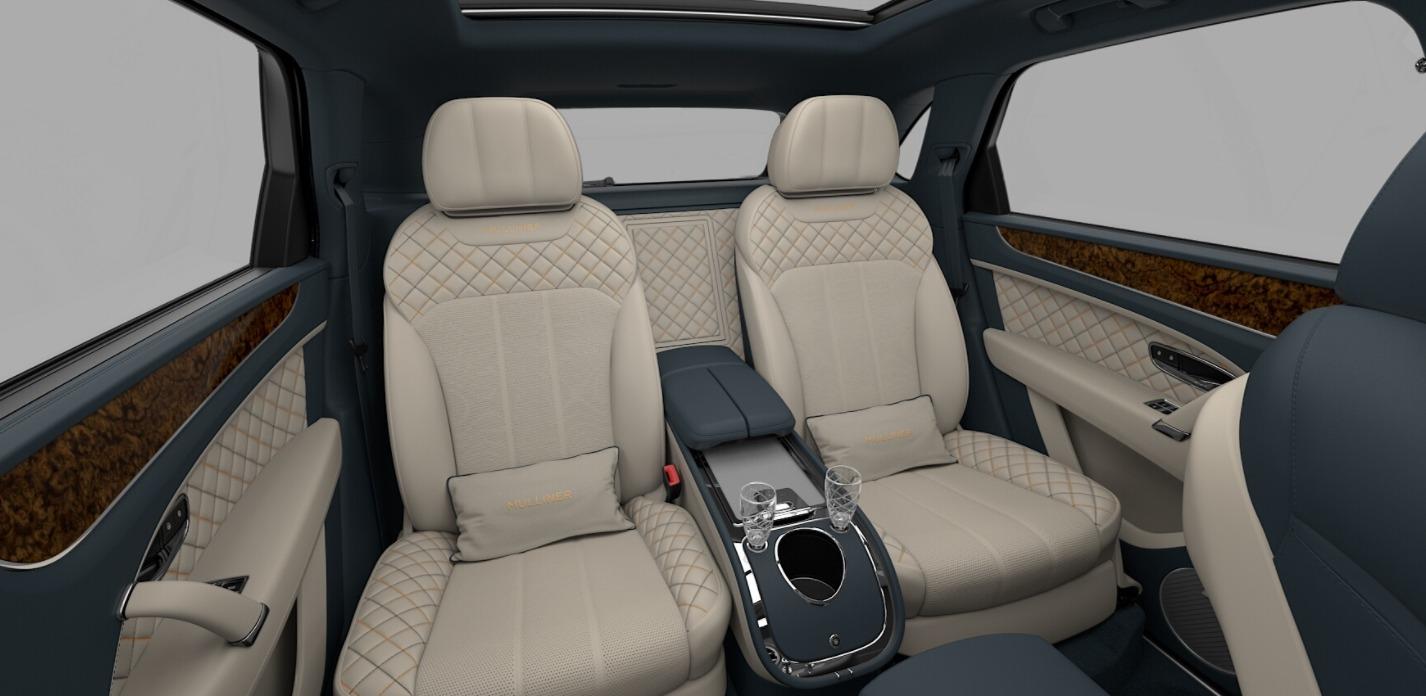 New 2018 Bentley Bentayga Mulliner For Sale In Westport, CT 1588_p9