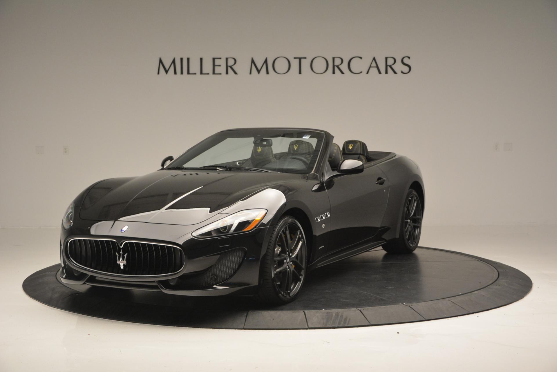 New 2017 Maserati GranTurismo Convertible Sport For Sale In Westport, CT 159_main