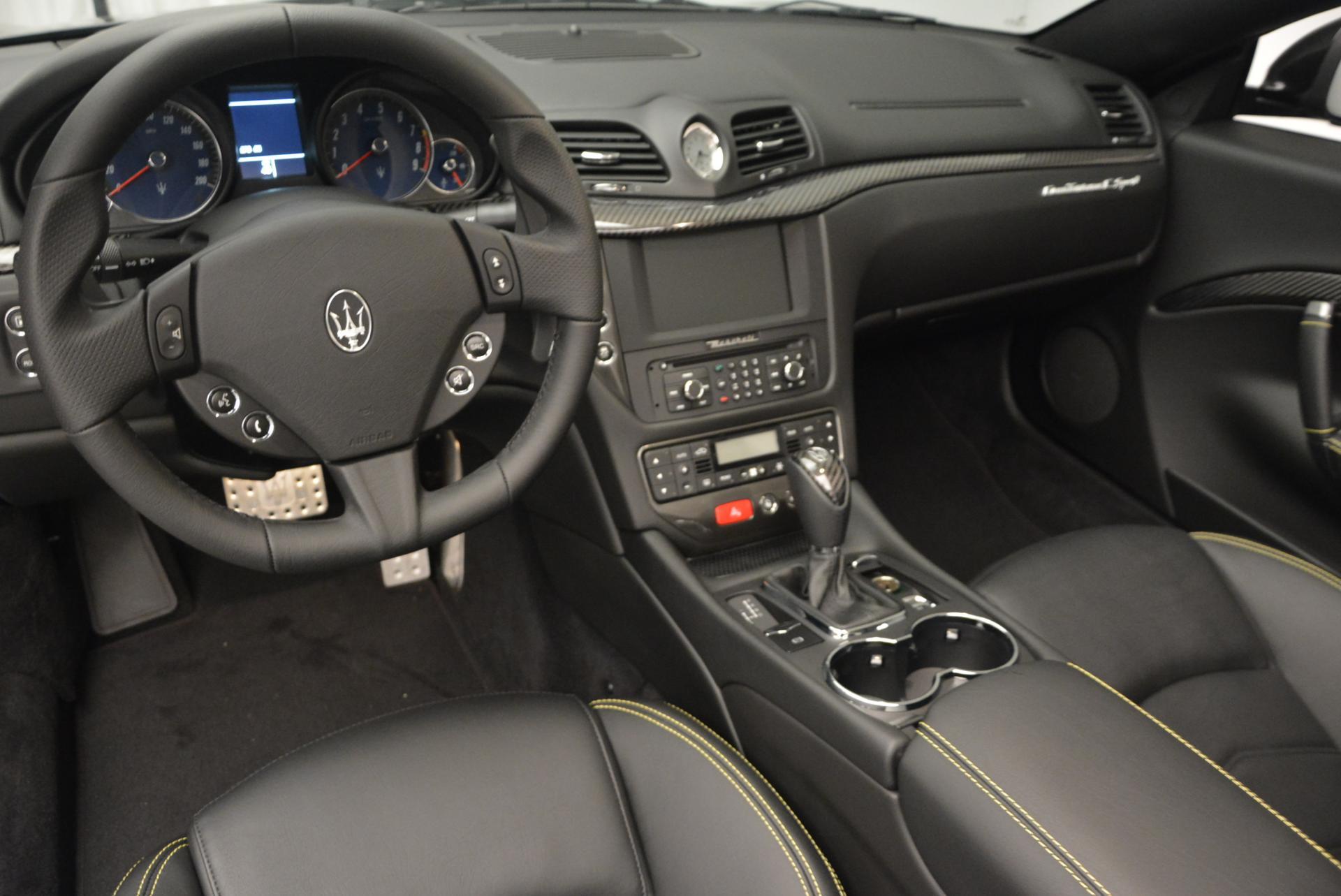 New 2017 Maserati GranTurismo Convertible Sport For Sale In Westport, CT 159_p21