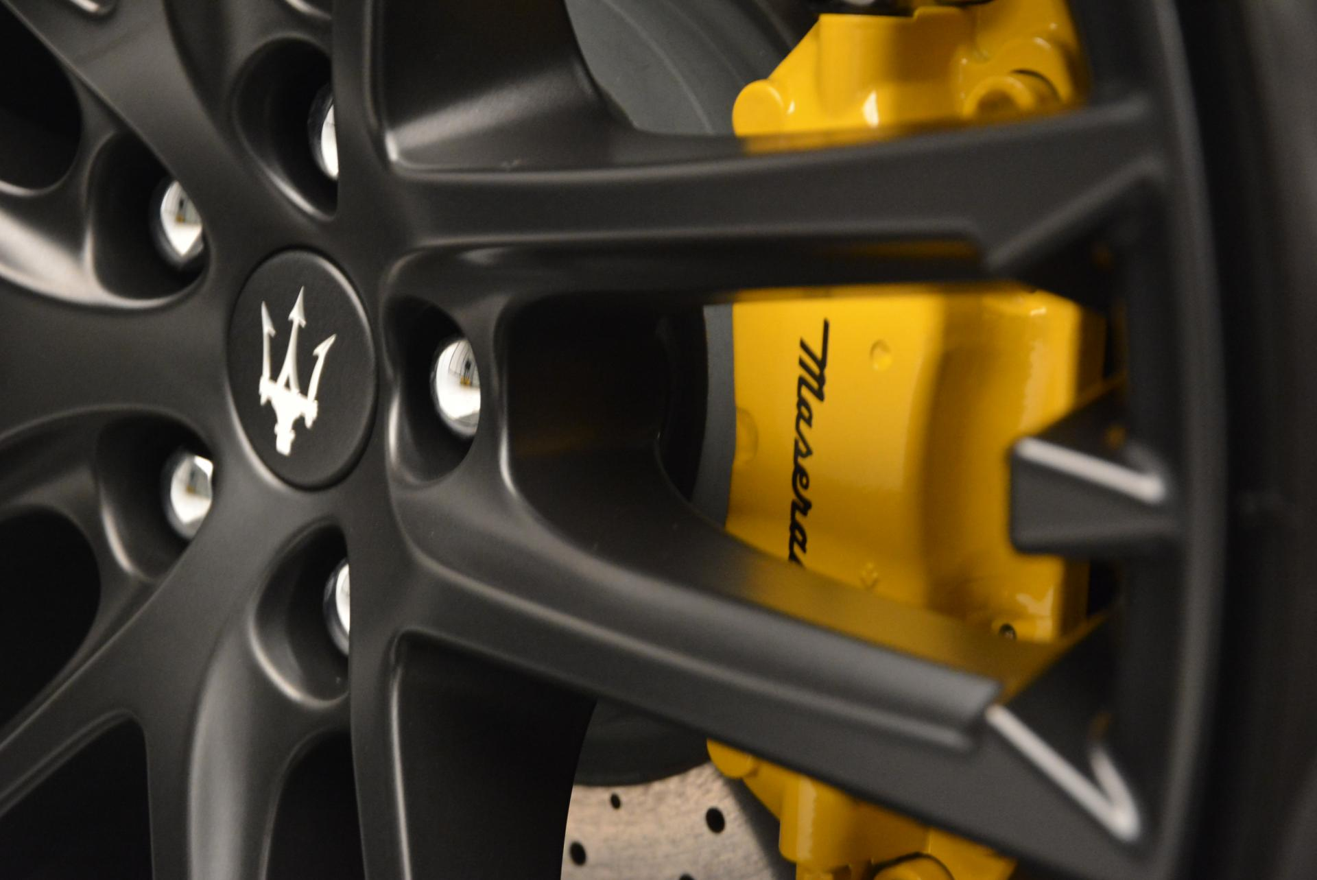 New 2017 Maserati GranTurismo Convertible Sport For Sale In Westport, CT 159_p30