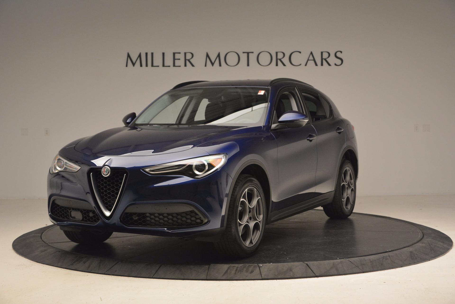 New 2018 Alfa Romeo Stelvio Q4 For Sale In Westport, CT 1590_main