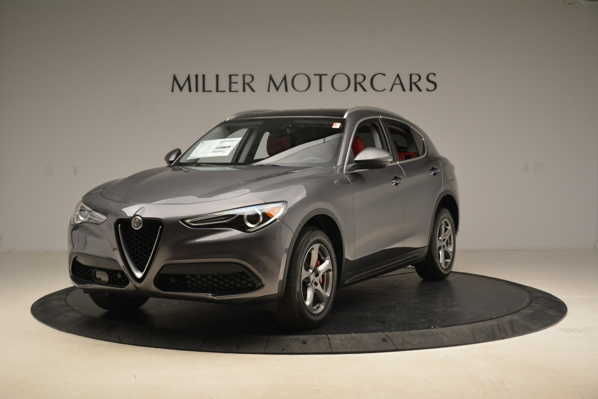 New 2018 Alfa Romeo Stelvio Q4 For Sale In Westport, CT 1592_main