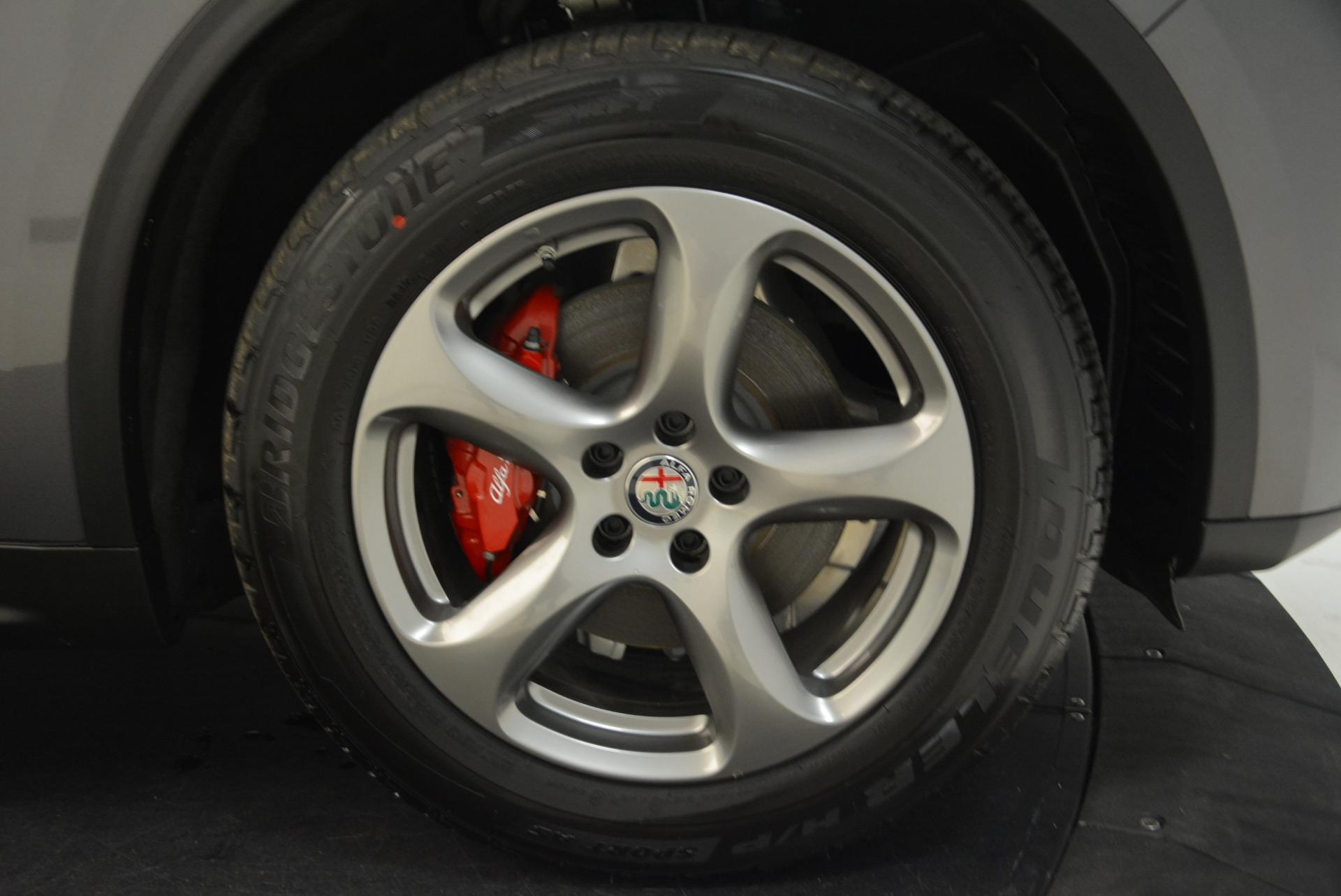 New 2018 Alfa Romeo Stelvio Q4 For Sale In Westport, CT 1592_p25