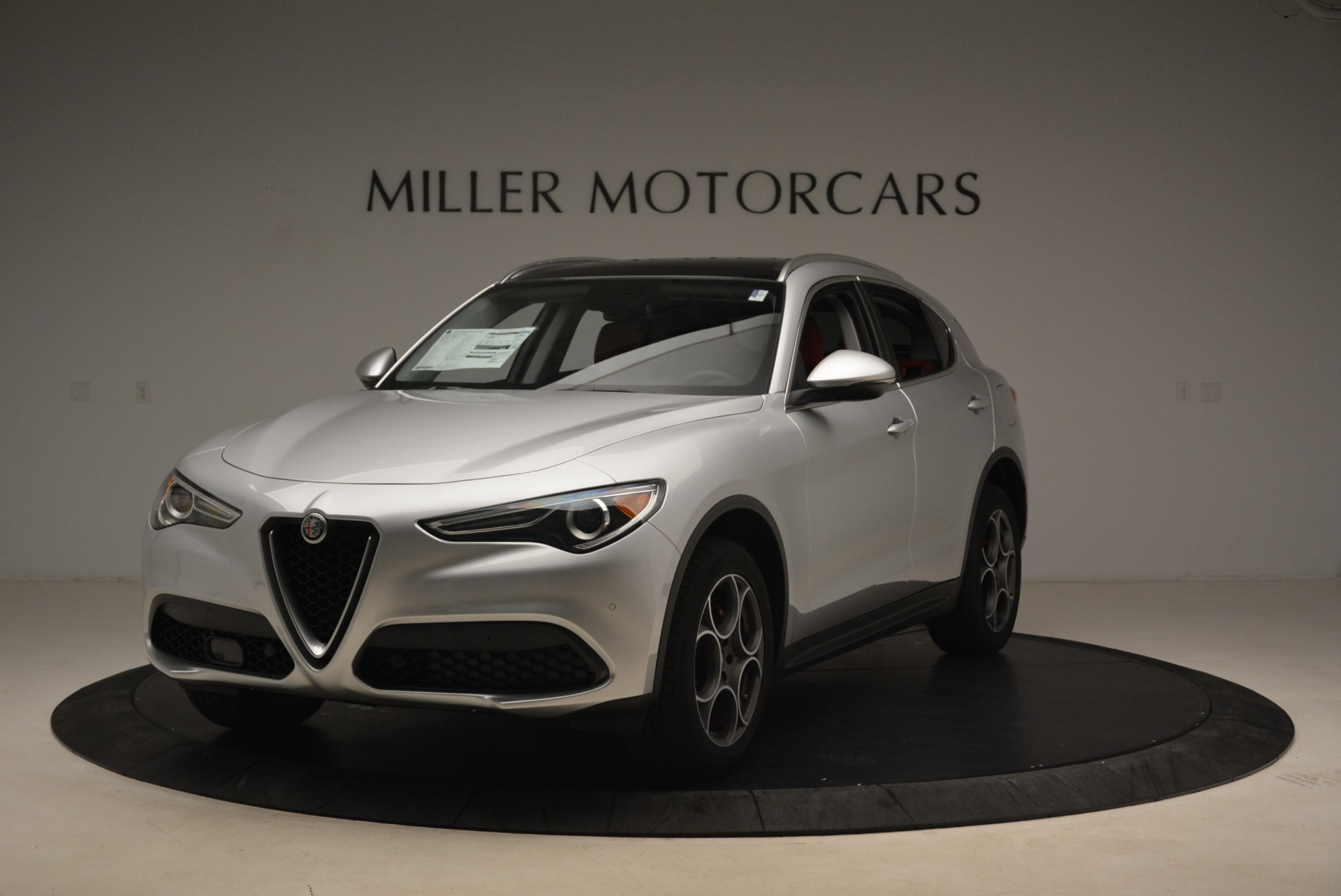 New 2018 Alfa Romeo Stelvio Ti Q4 For Sale In Westport, CT 1593_main
