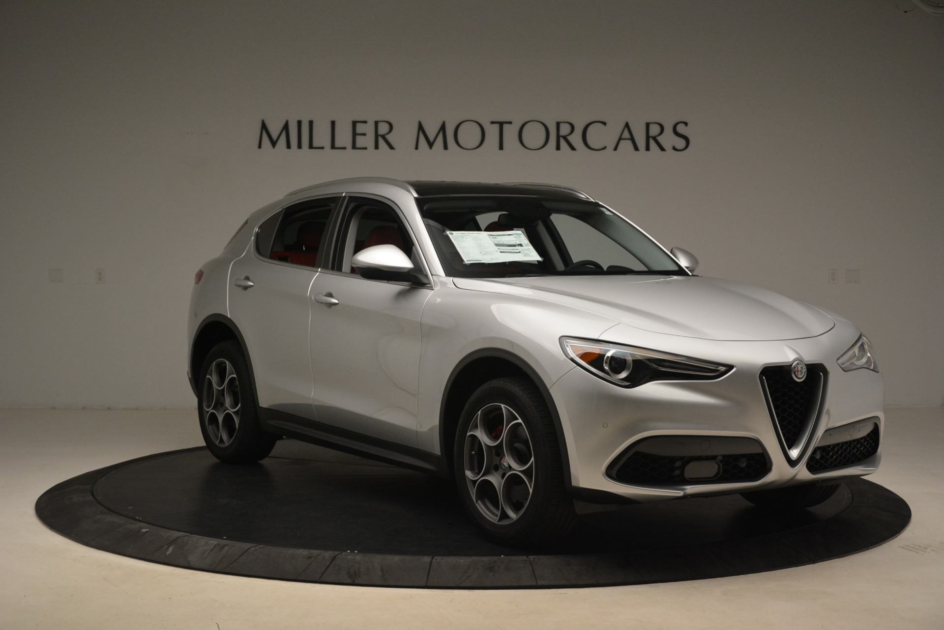 New 2018 Alfa Romeo Stelvio Ti Q4 For Sale In Westport, CT 1593_p11
