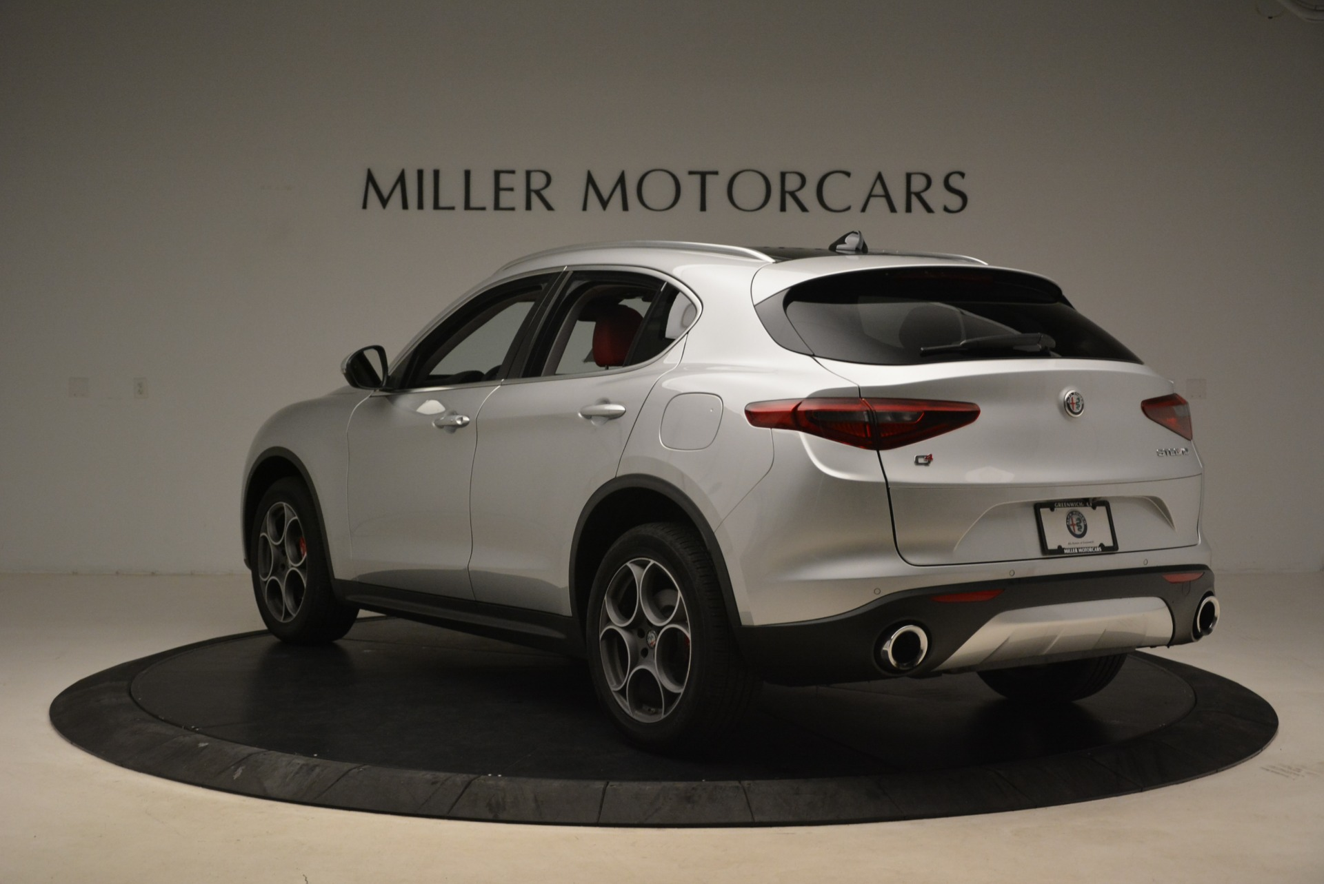 New 2018 Alfa Romeo Stelvio Ti Q4 For Sale In Westport, CT 1593_p5