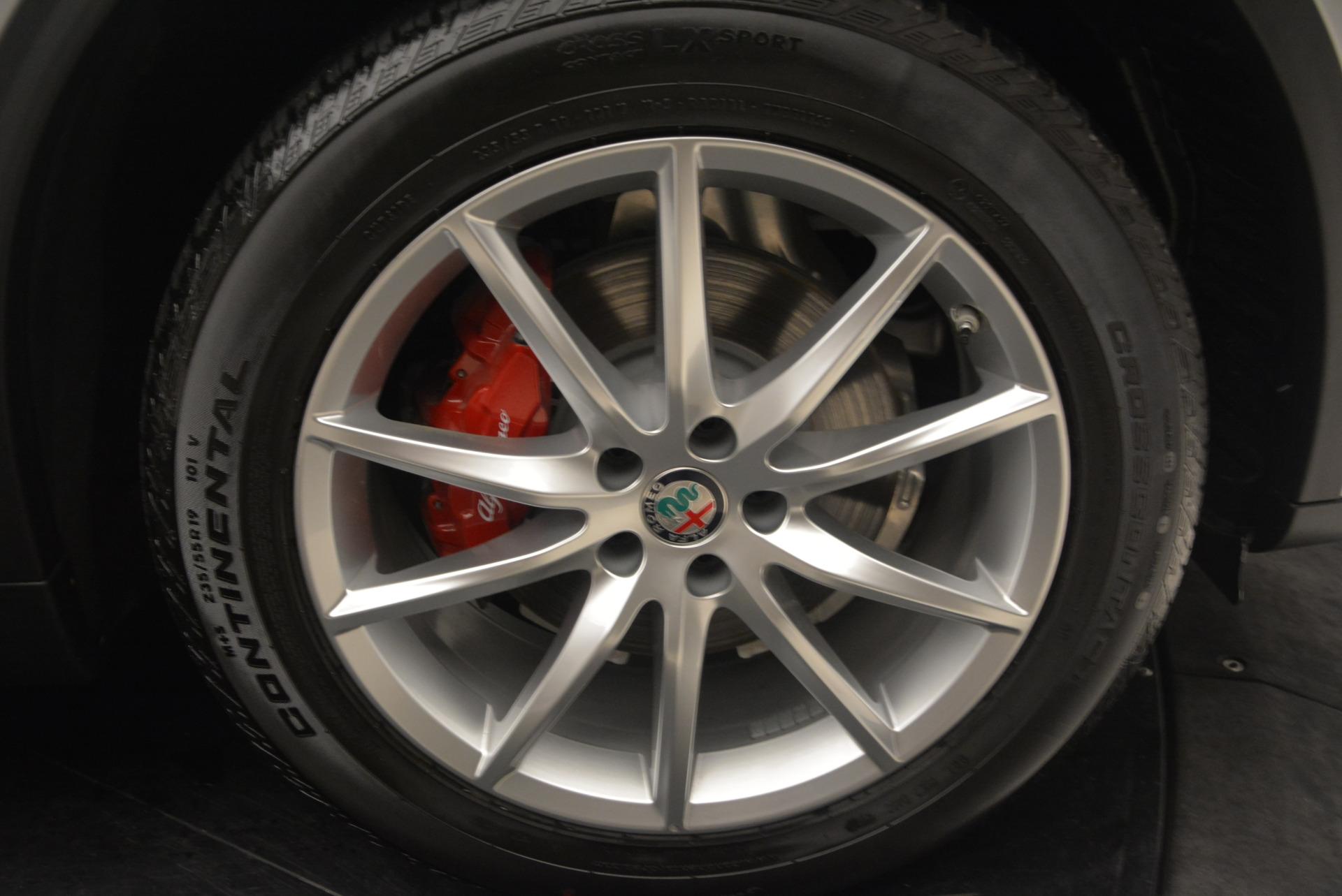New 2018 Alfa Romeo Stelvio Ti Q4 For Sale In Westport, CT 1594_p25