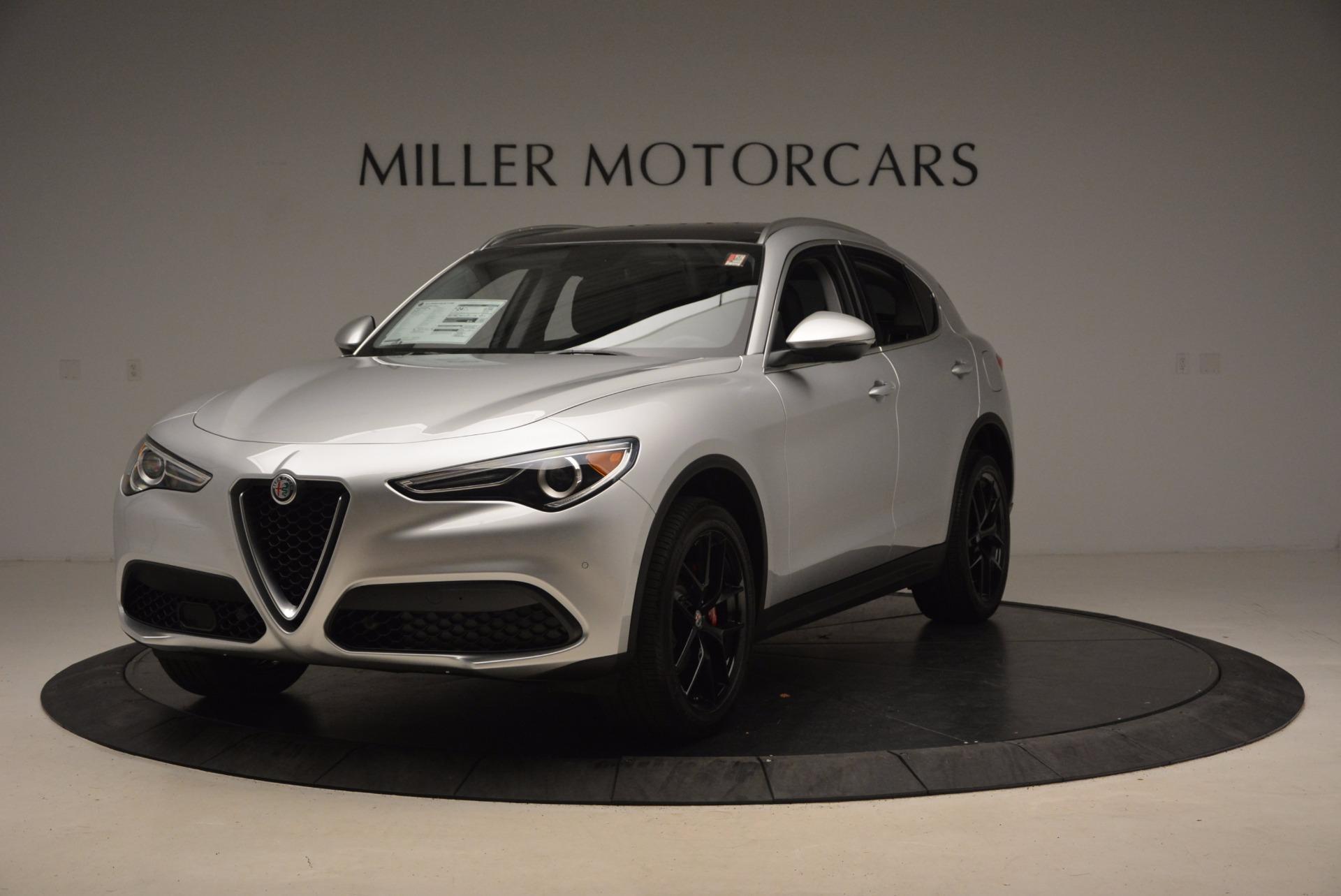 New 2018 Alfa Romeo Stelvio Ti Q4 For Sale In Westport, CT 1606_main