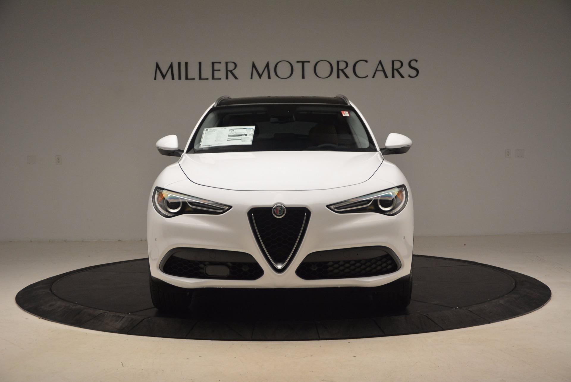New 2018 Alfa Romeo Stelvio Ti Q4 For Sale In Westport, CT 1607_p12