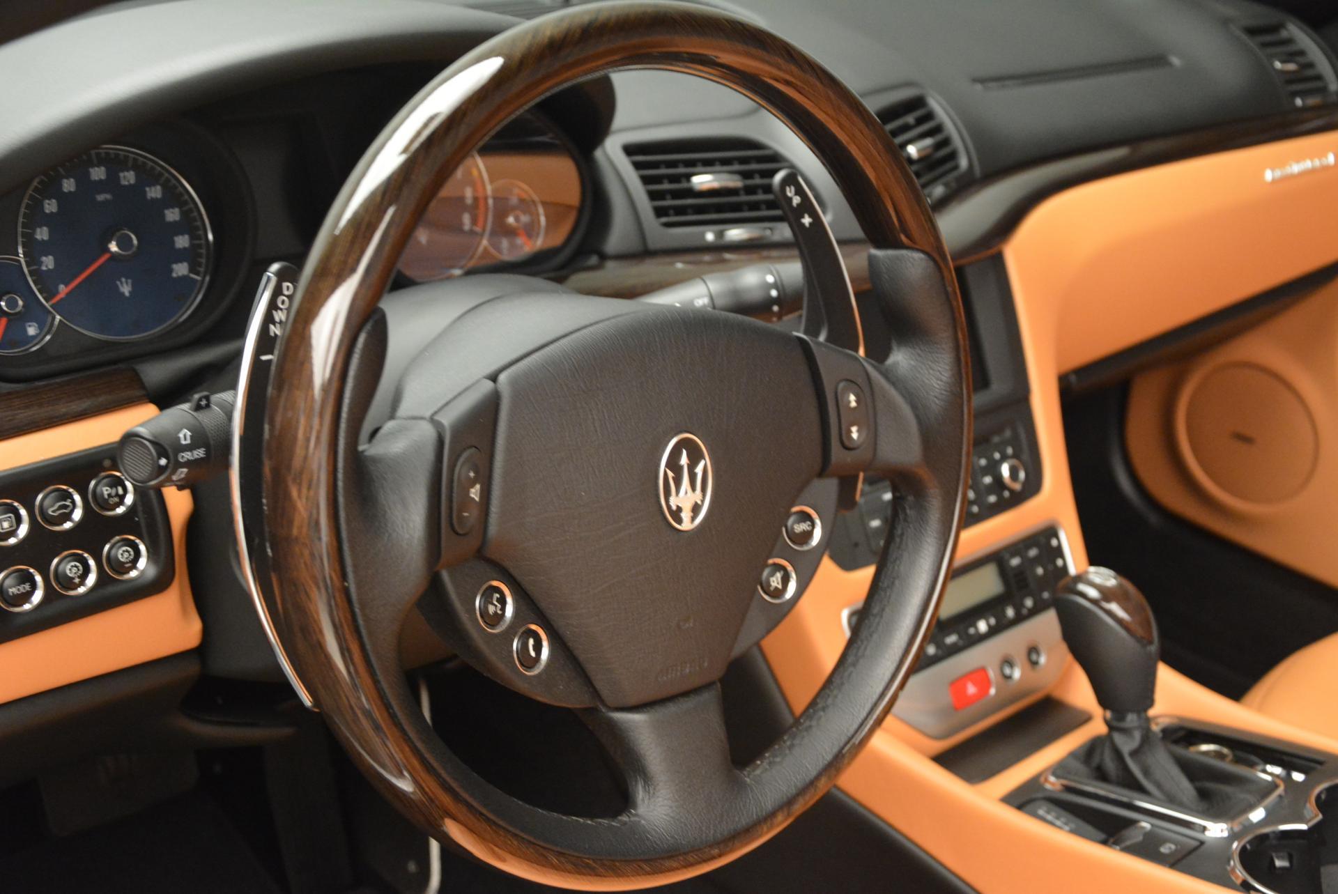 Used 2012 Maserati GranTurismo  For Sale In Westport, CT 161_p24