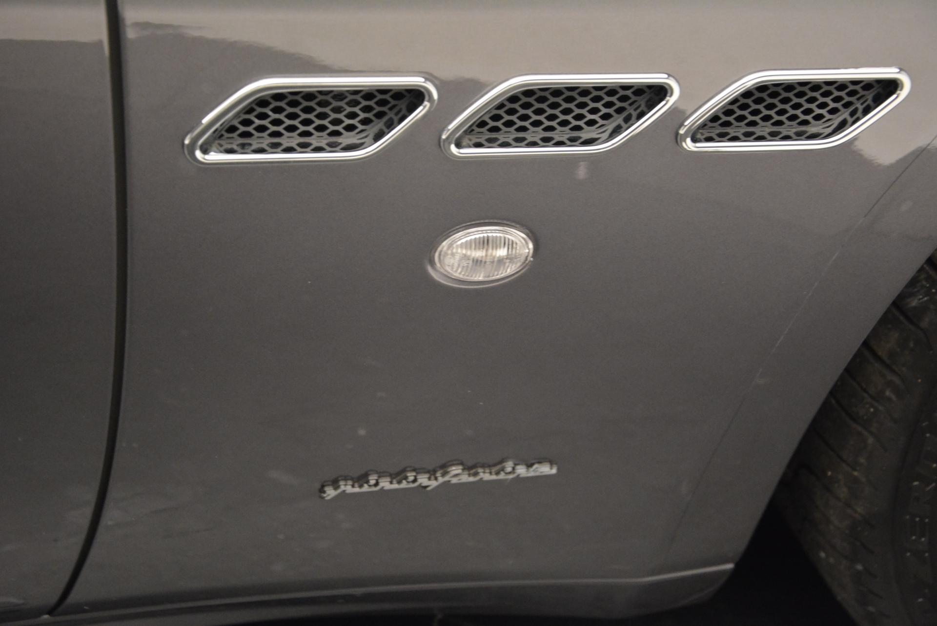 Used 2012 Maserati GranTurismo  For Sale In Westport, CT 161_p29