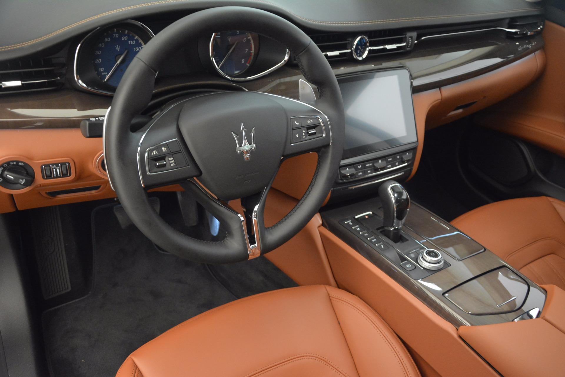 New 2018 Maserati Quattroporte S Q4 GranLusso For Sale In Westport, CT 1614_p13