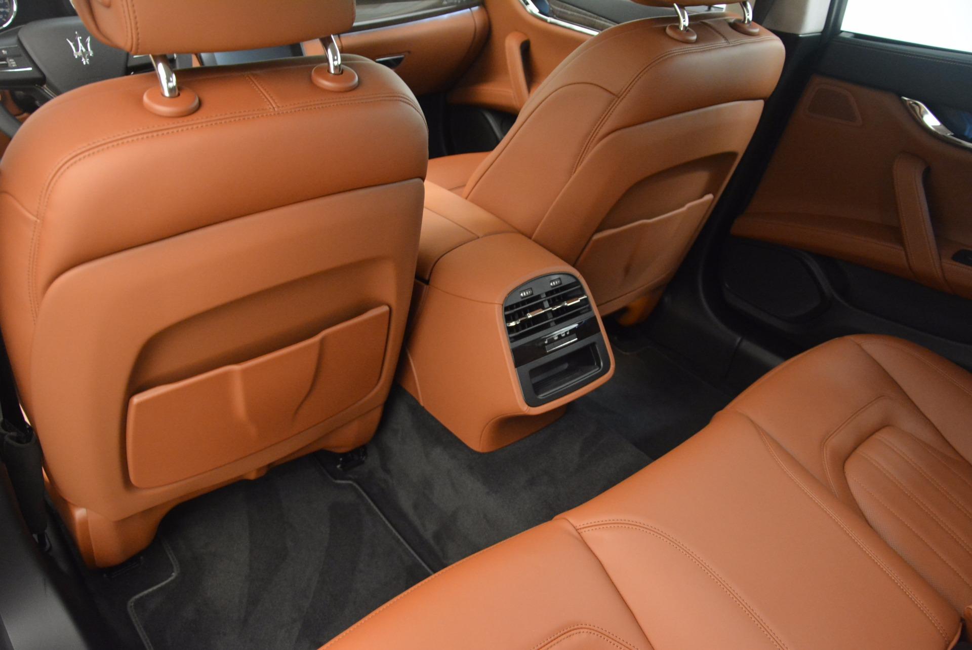 New 2018 Maserati Quattroporte S Q4 GranLusso For Sale In Westport, CT 1614_p16