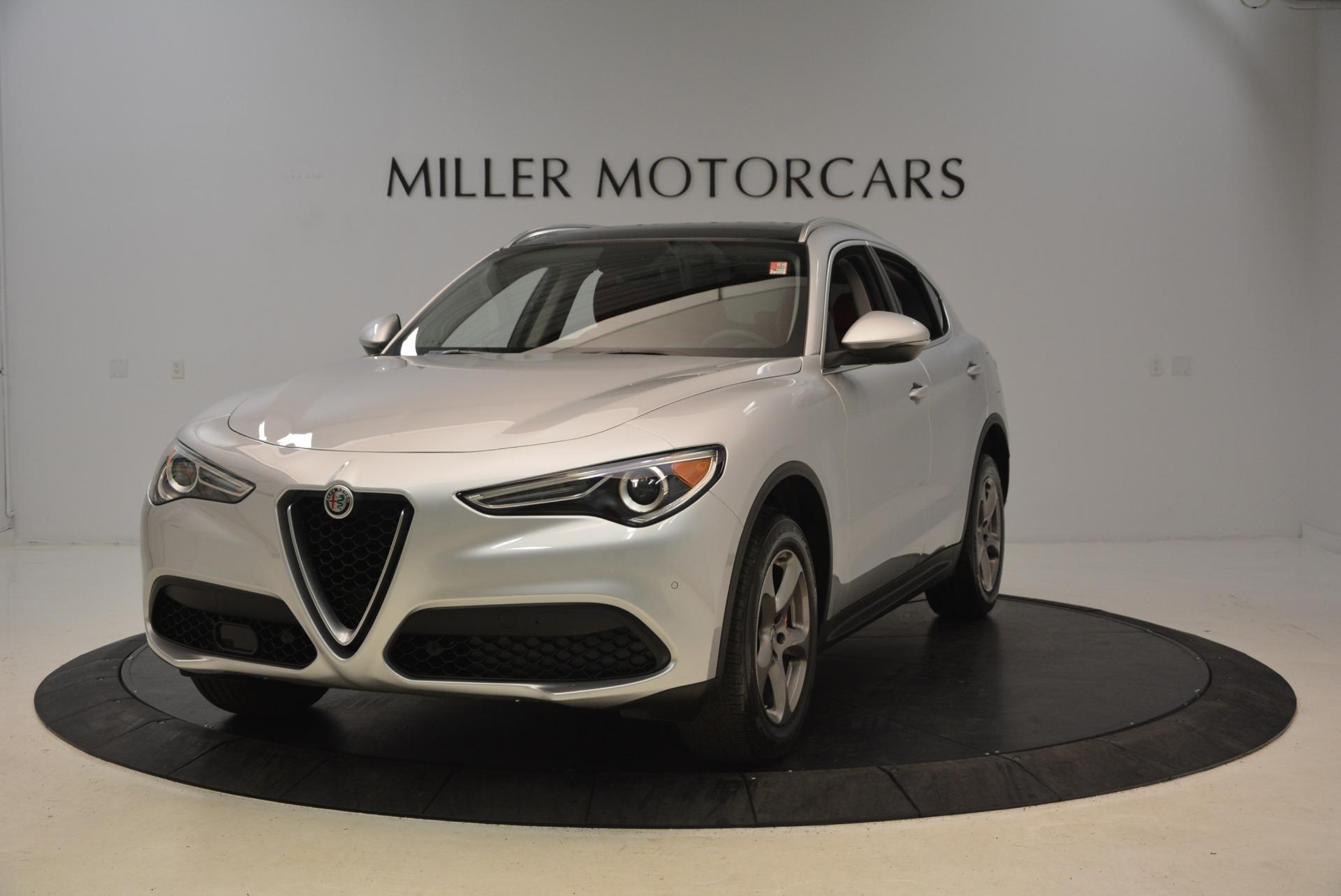 New 2018 Alfa Romeo Stelvio Q4 For Sale In Westport, CT 1619_main