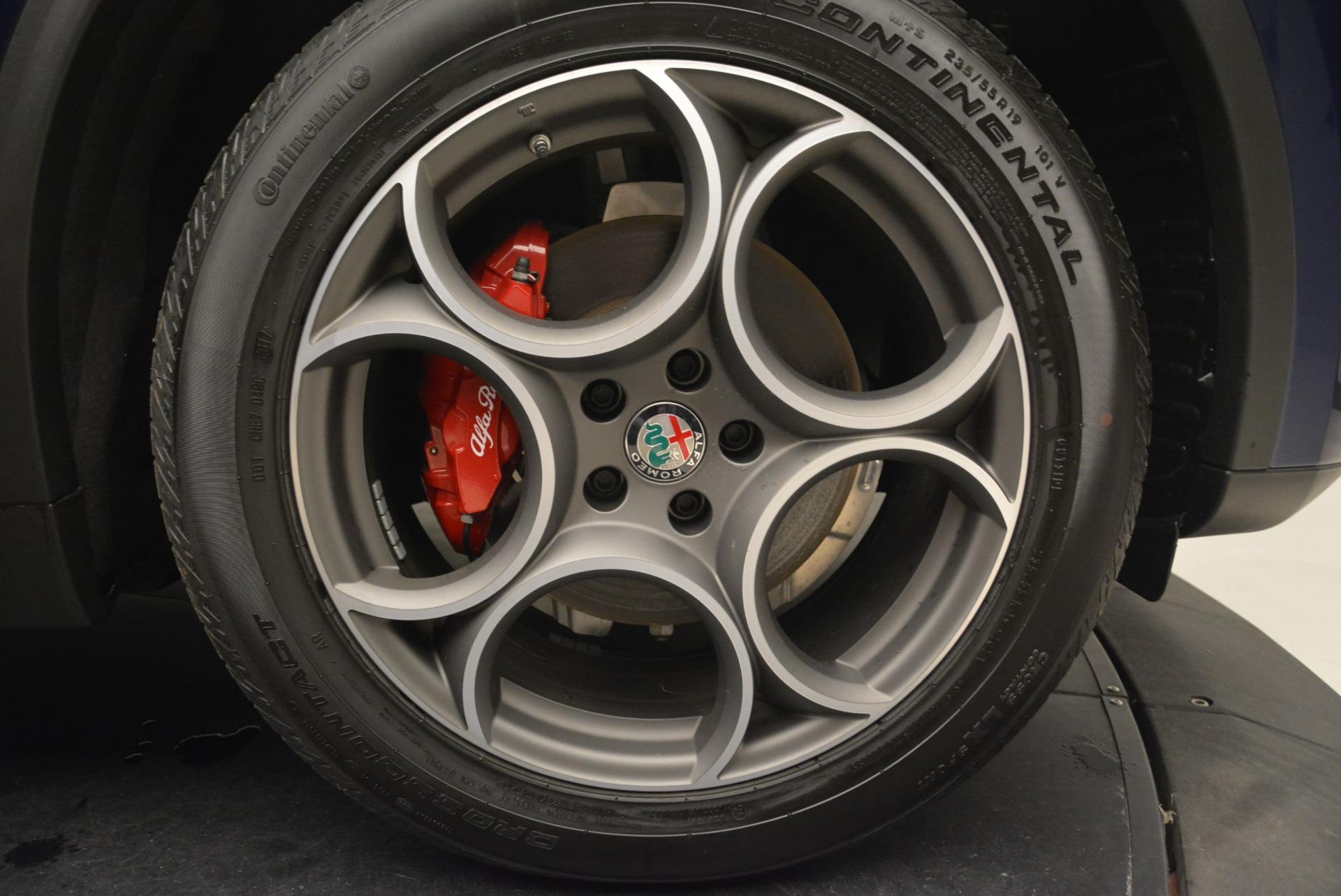 New 2018 Alfa Romeo Stelvio Sport Q4 For Sale In Westport, CT 1620_p25