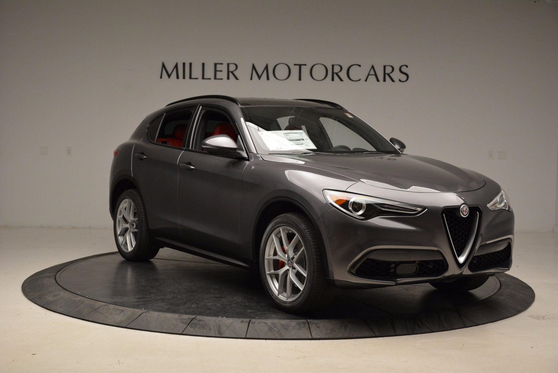 New 2018 Alfa Romeo Stelvio Ti Sport Q4 For Sale In Westport, CT 1629_p11