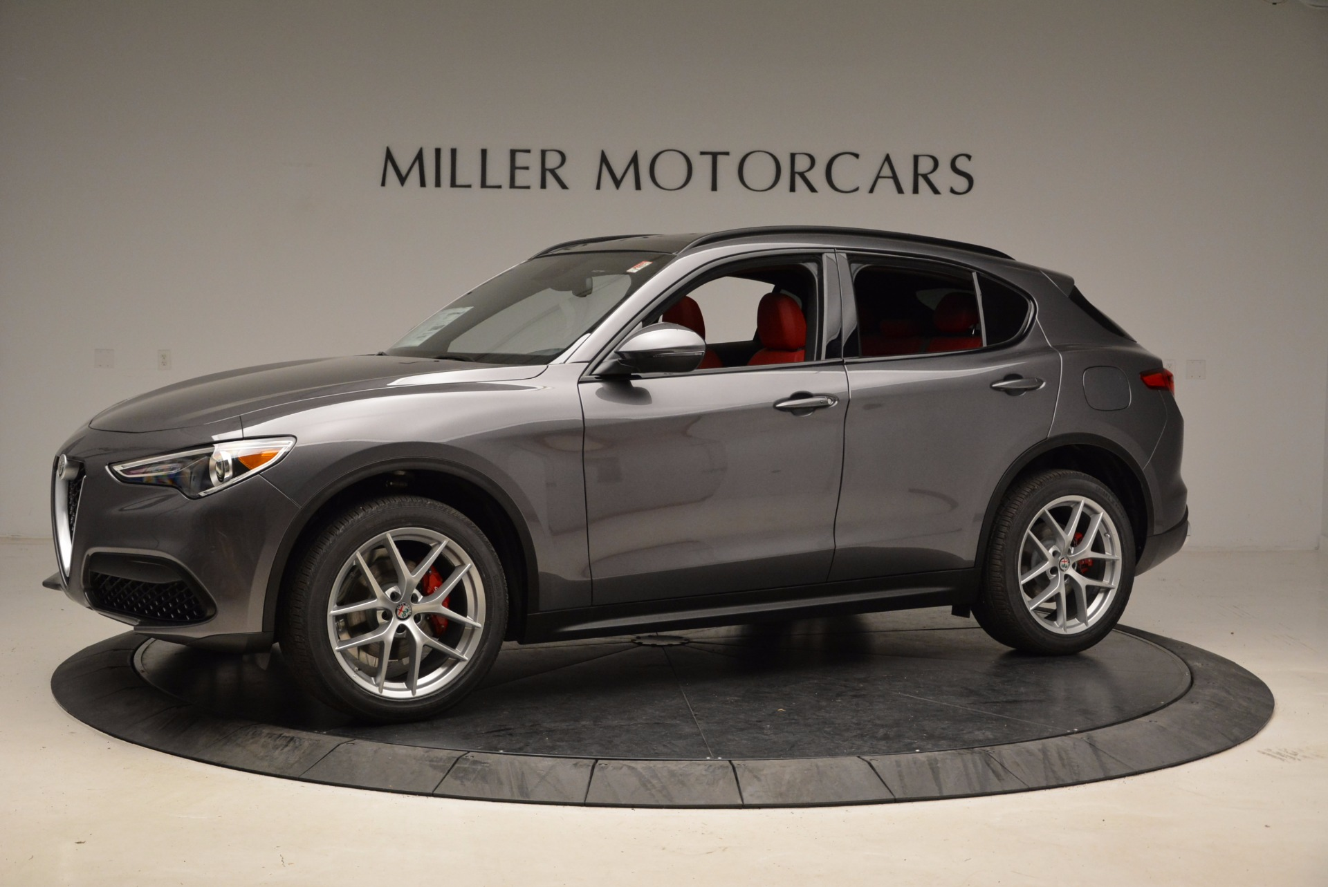 New 2018 Alfa Romeo Stelvio Ti Sport Q4 For Sale In Westport, CT 1629_p2