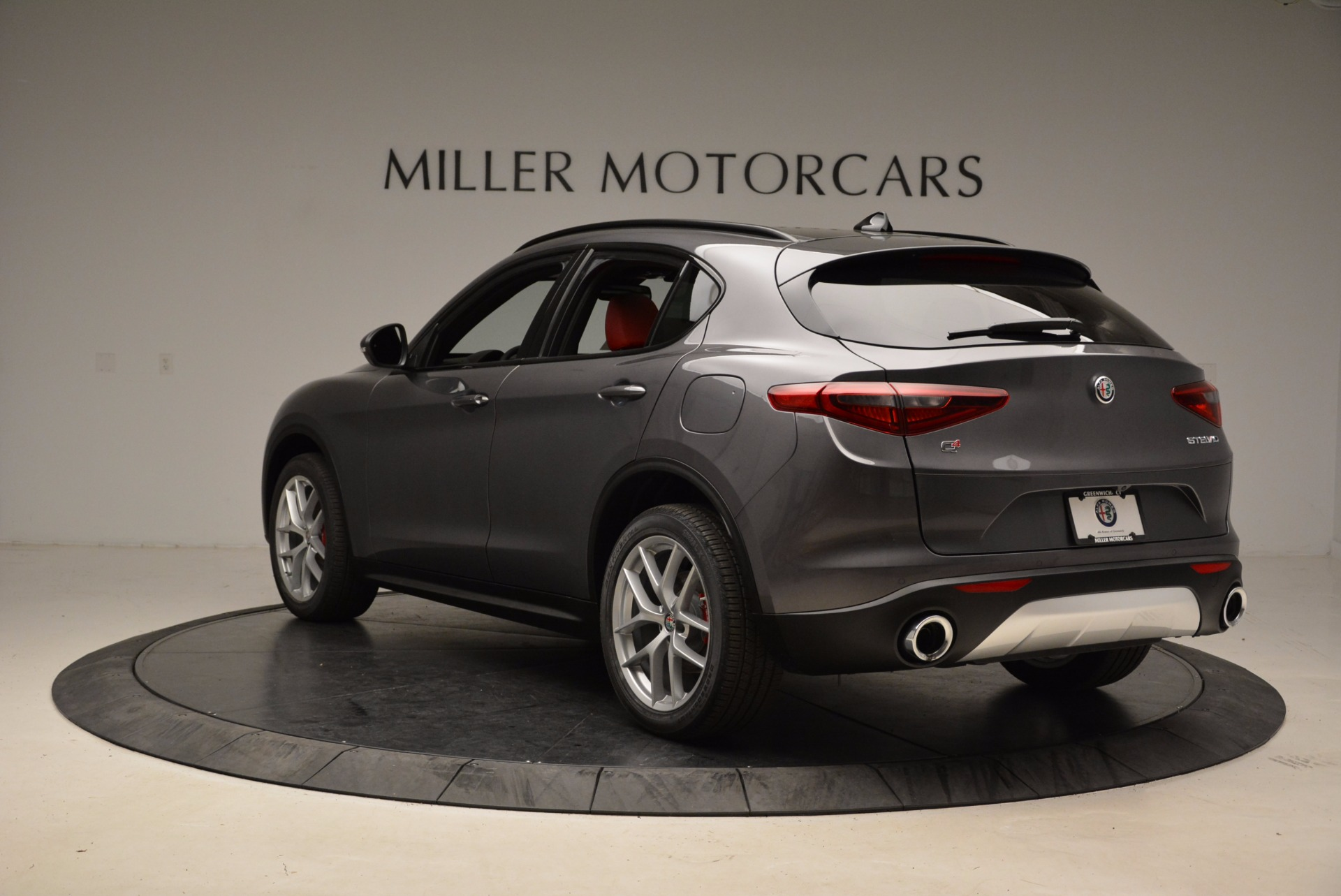 New 2018 Alfa Romeo Stelvio Ti Sport Q4 For Sale In Westport, CT 1629_p5
