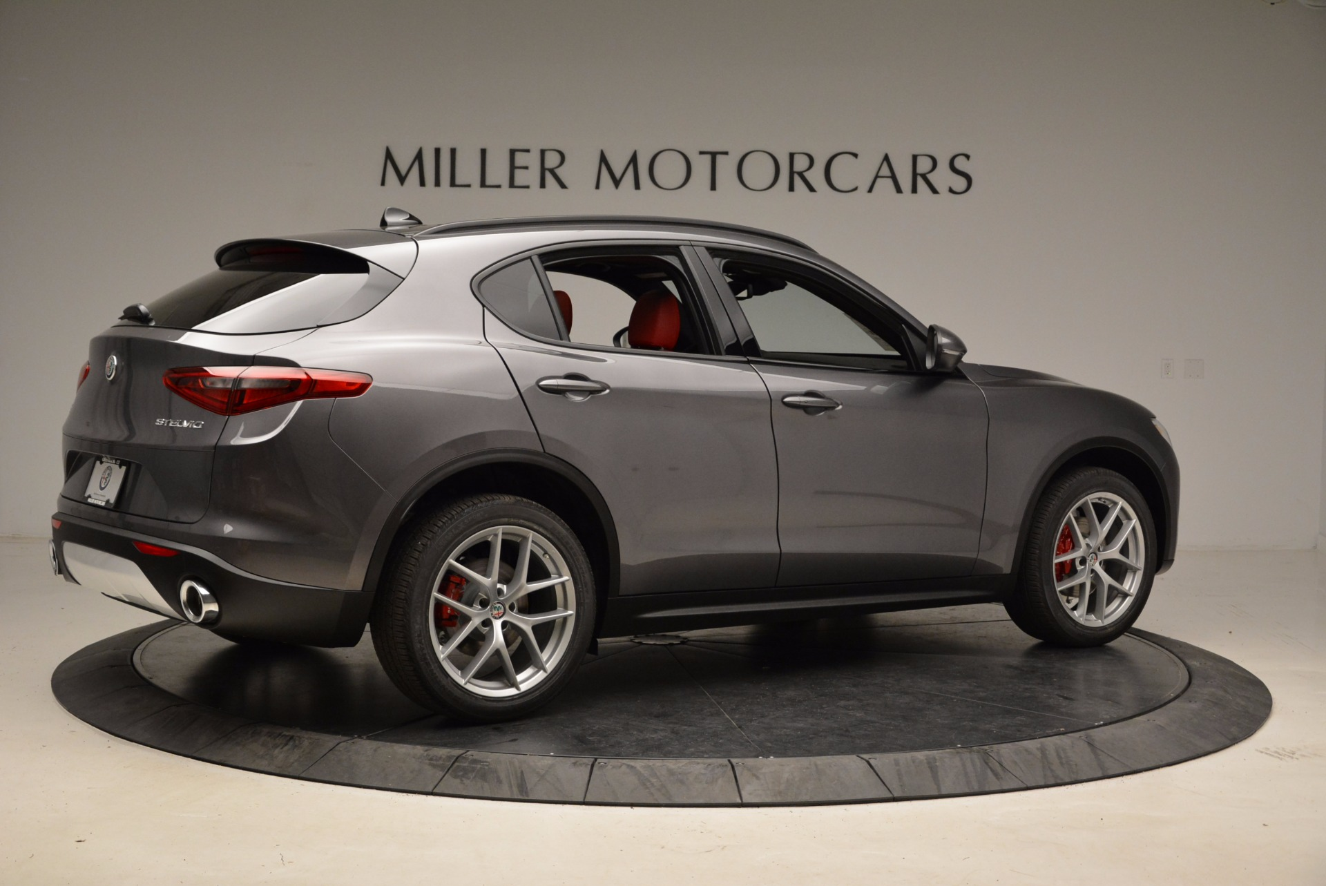 New 2018 Alfa Romeo Stelvio Ti Sport Q4 For Sale In Westport, CT 1629_p8