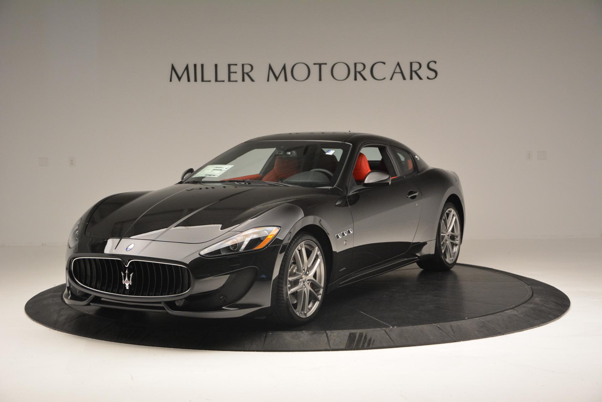 New 2016 Maserati GranTurismo Sport For Sale In Westport, CT 163_main