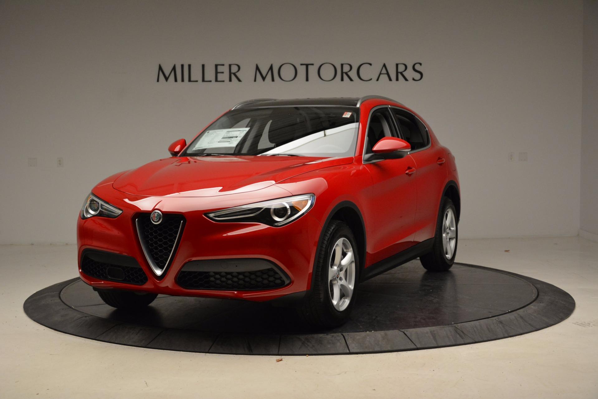 New 2018 Alfa Romeo Stelvio Q4 For Sale In Westport, CT 1634_main