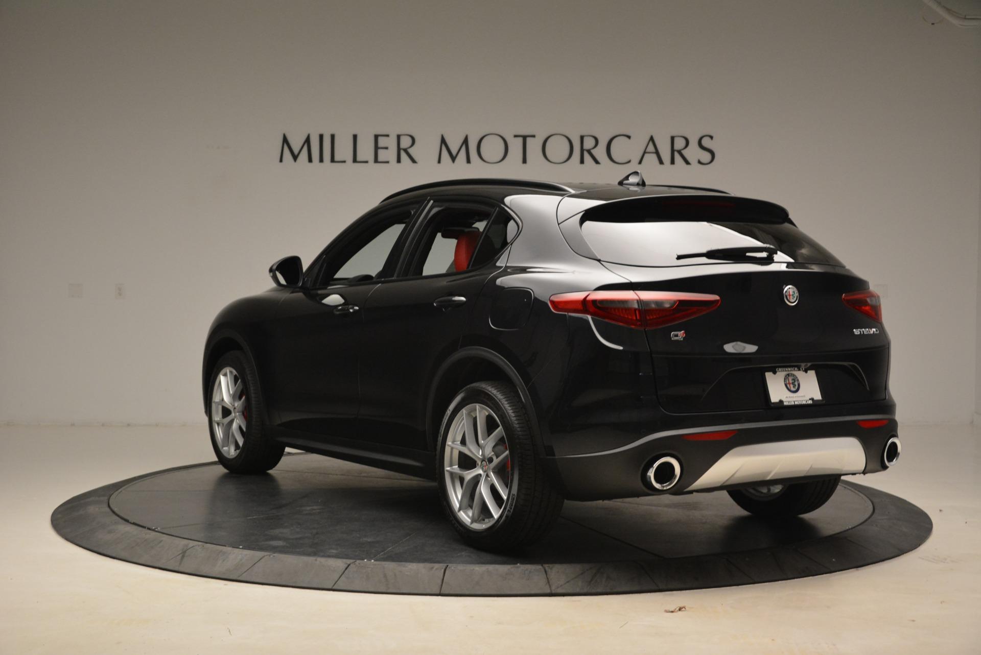 New 2018 Alfa Romeo Stelvio Sport Q4 For Sale In Westport, CT 1635_p5